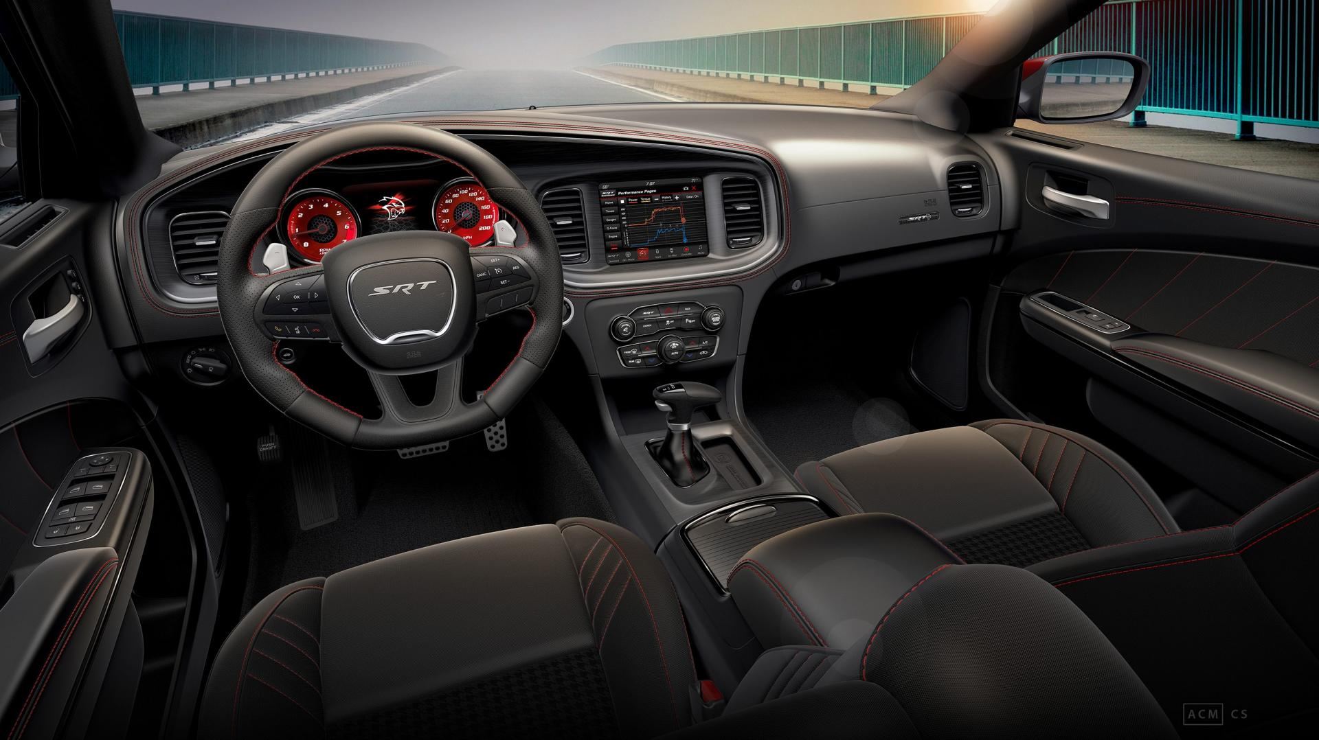 Dodge SRT Charger Hellcat Octane Edition interieur dashboard