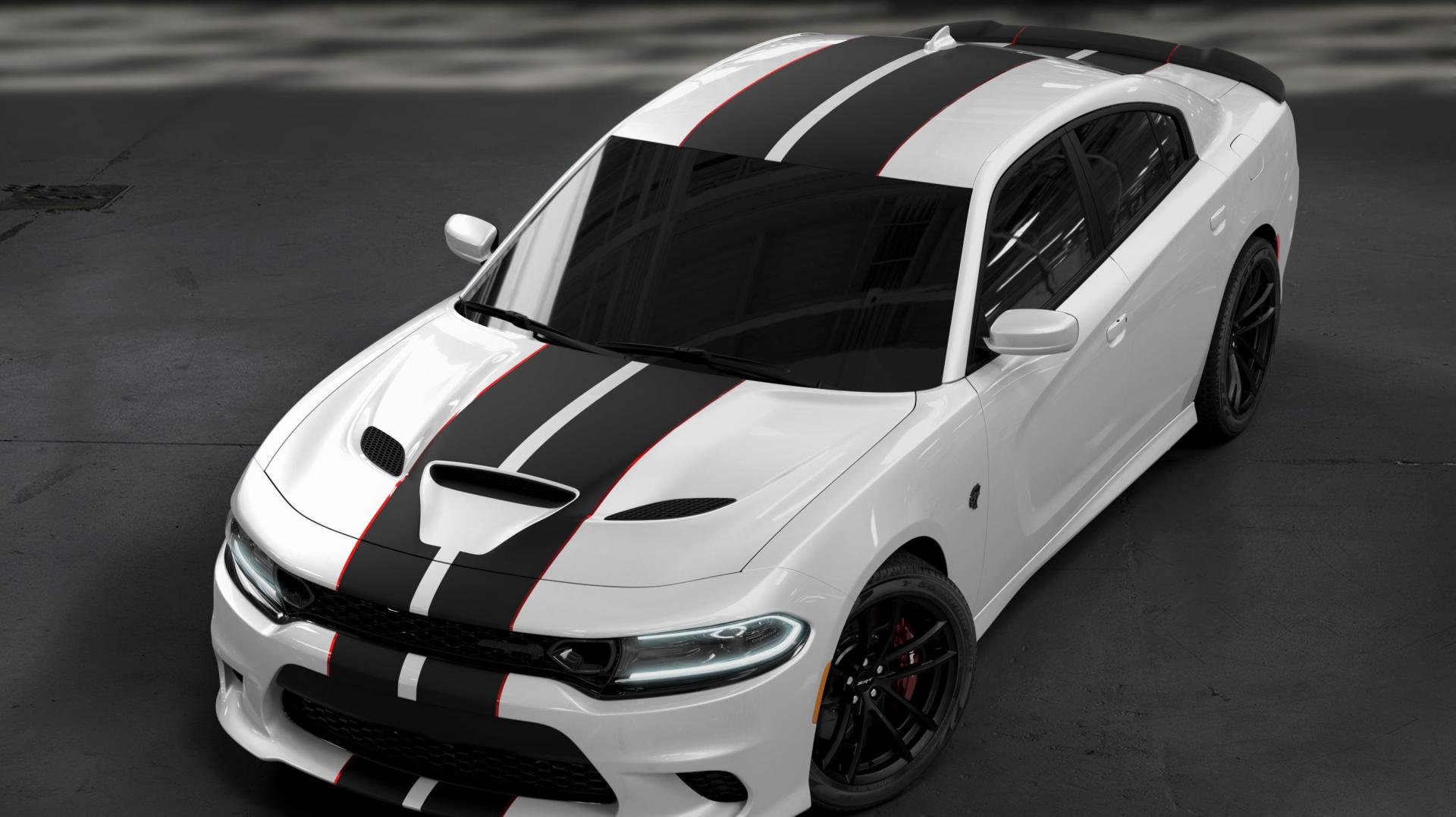 Dodge SRT Charger Hellcat Octane Edition White Knuckle