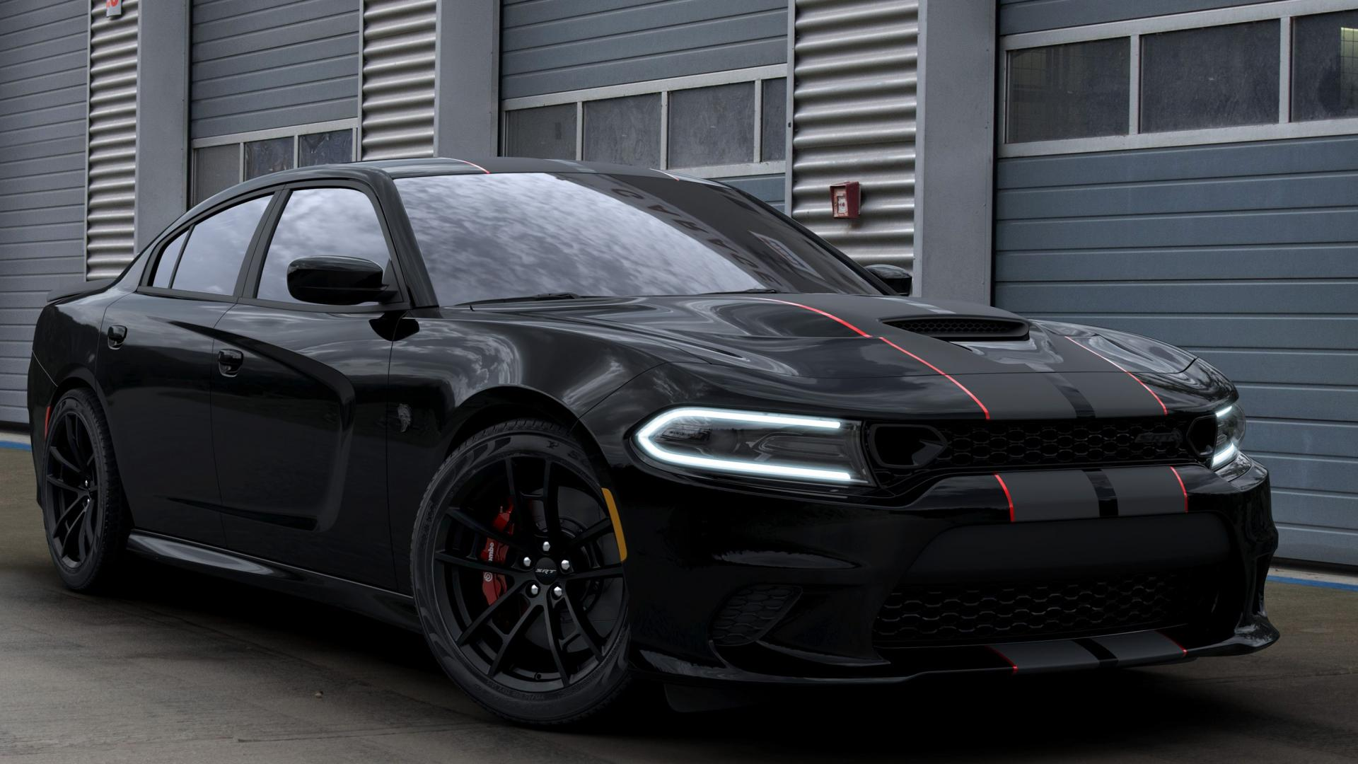Dodge SRT Charger Hellcat Octane Edition Pitch Black