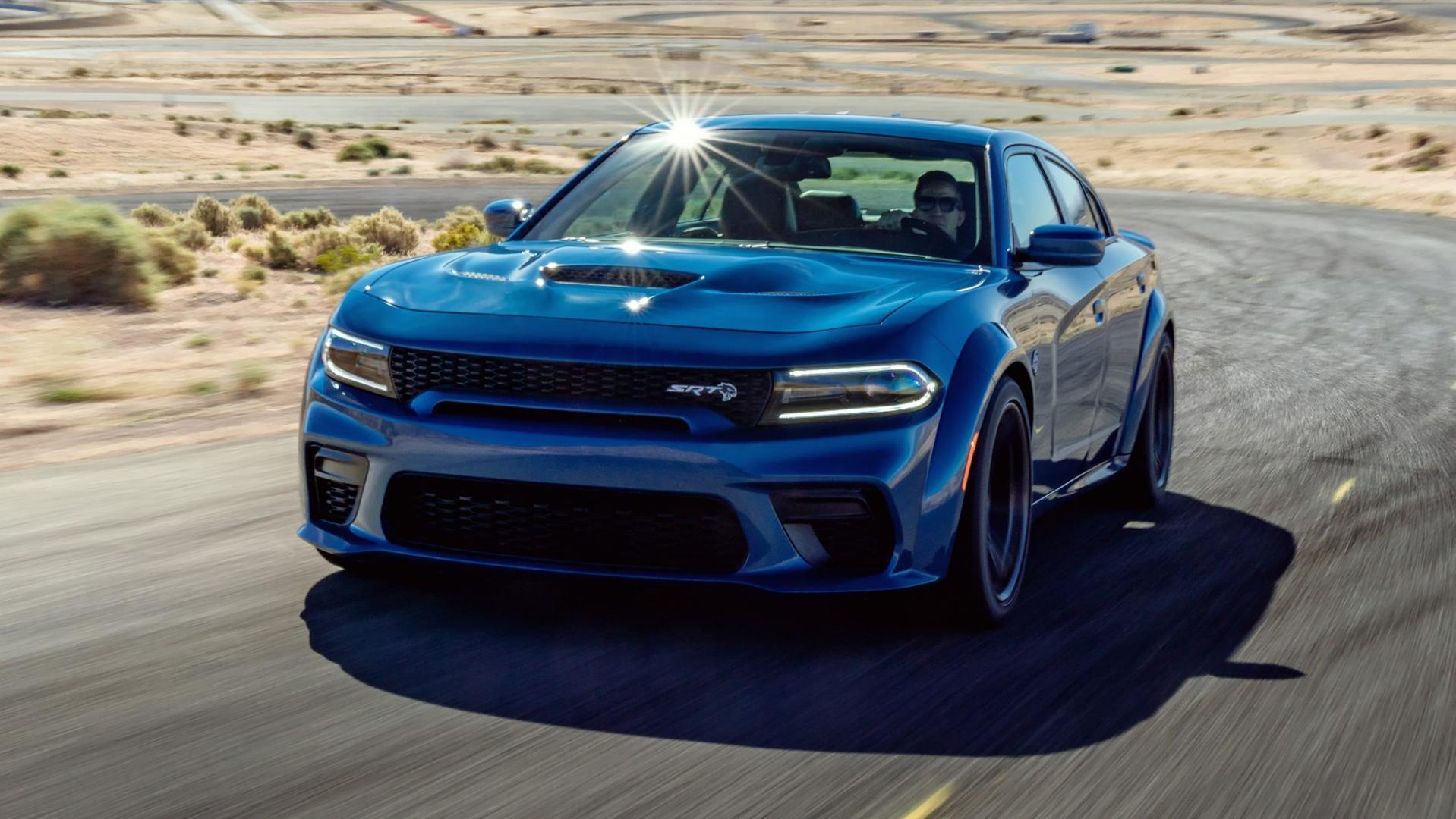 Dodge Charger Hellcat Widebody woestijn