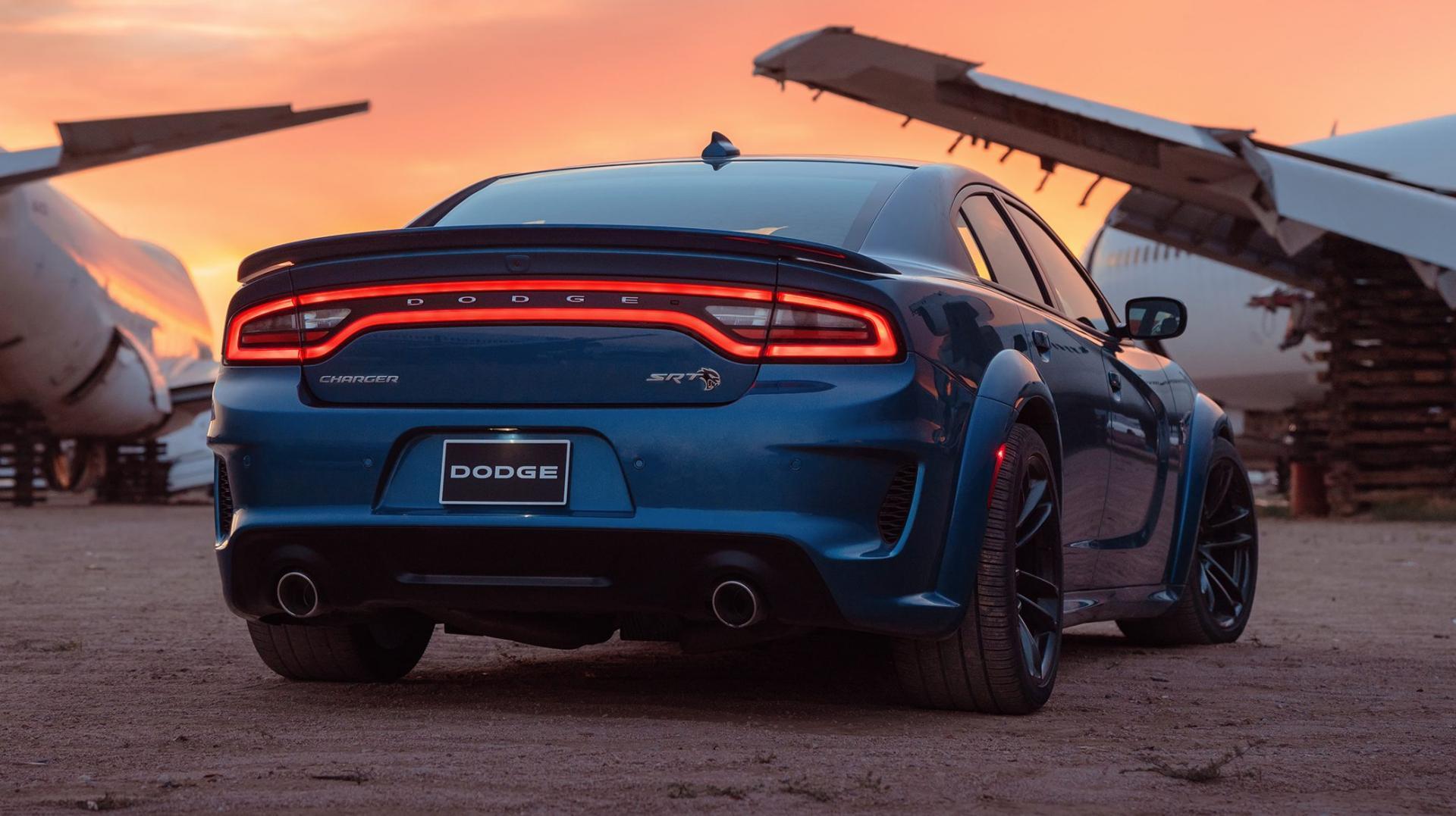 Dodge Charger Hellcat Widebody achterlichten