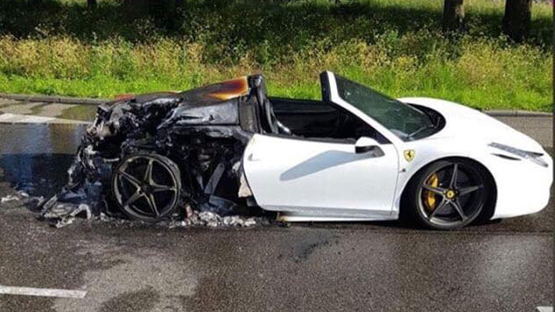 Ferrari 458 Spider brand