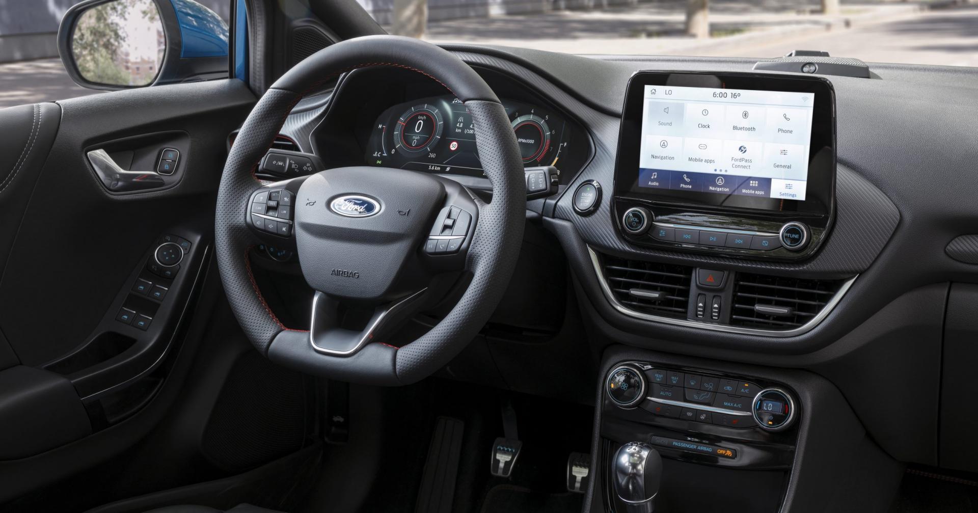 Ford Puma 2019 interieur