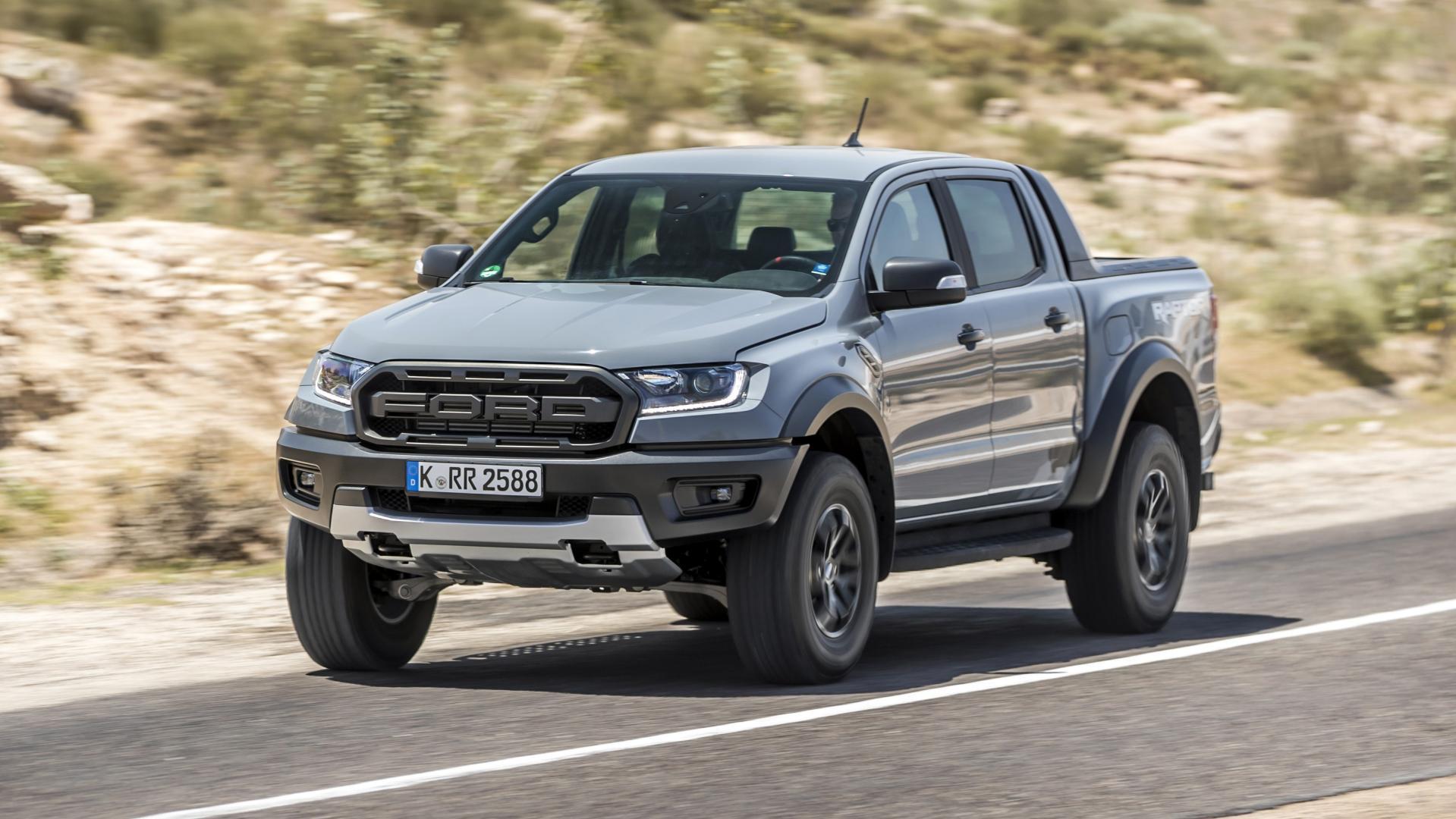 Ford Ranger Raptor weg