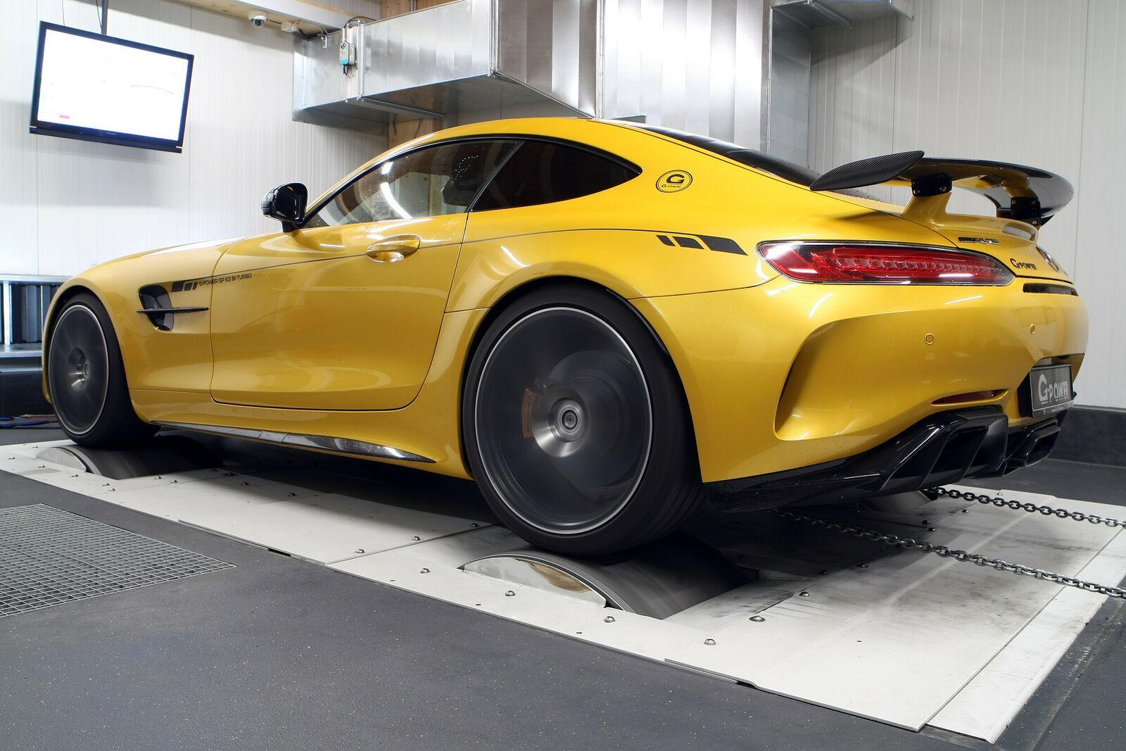 G-Power Mercedes-AMG GT R rollerbank