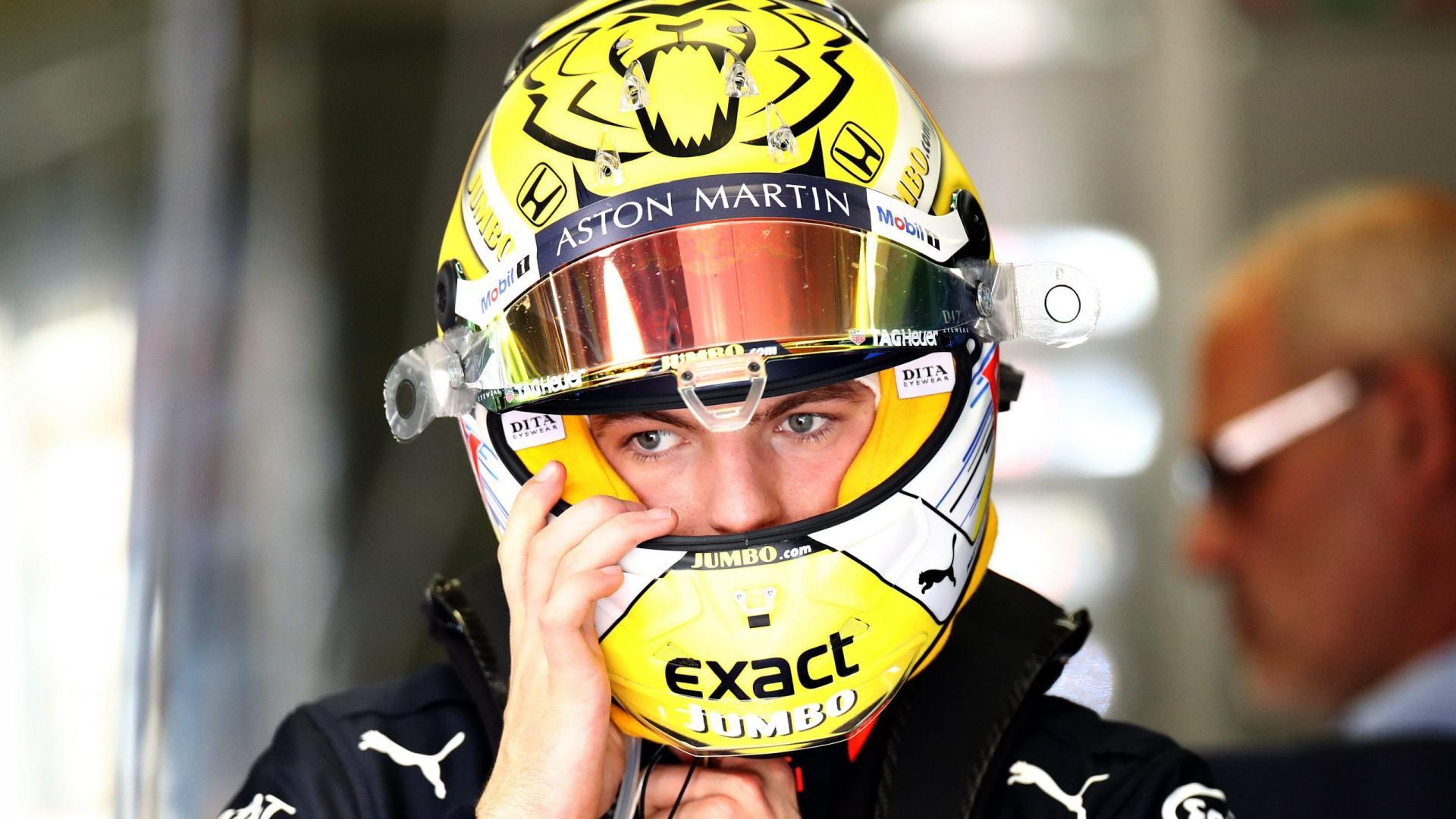 Helm Max Verstappen Oostenrijk