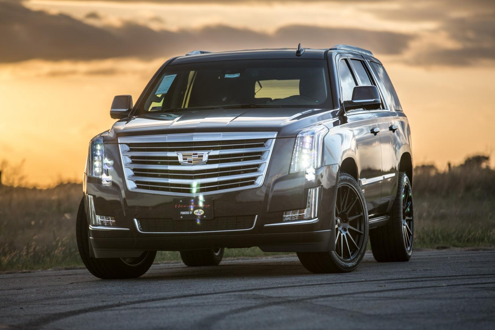 cadillac escalade hennessey hpe800