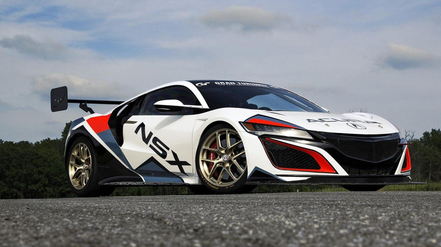 Honda Acura NSX Time Attack Pikes Peak