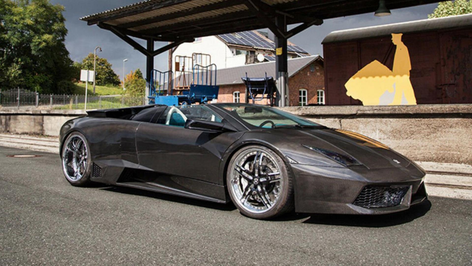 Lamborghini Murciélago schuin voor
