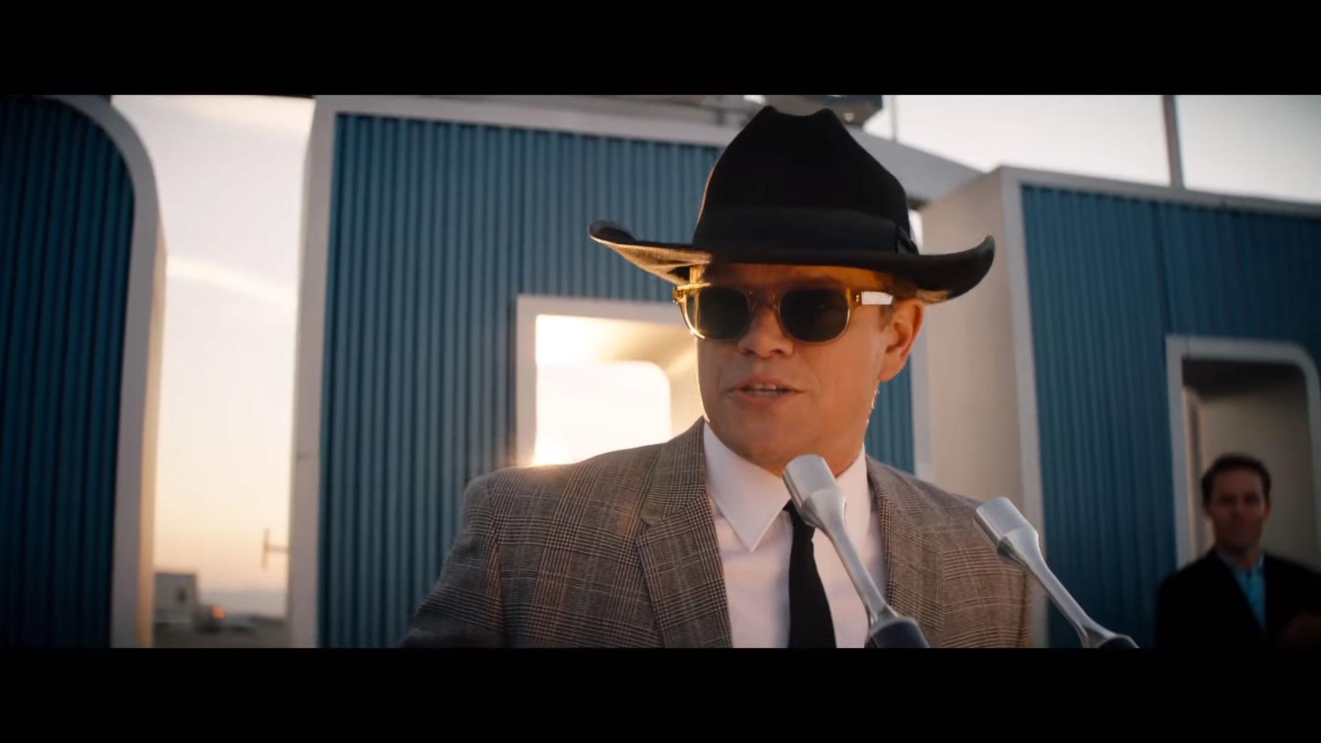Carroll Shelby Matt Damon
