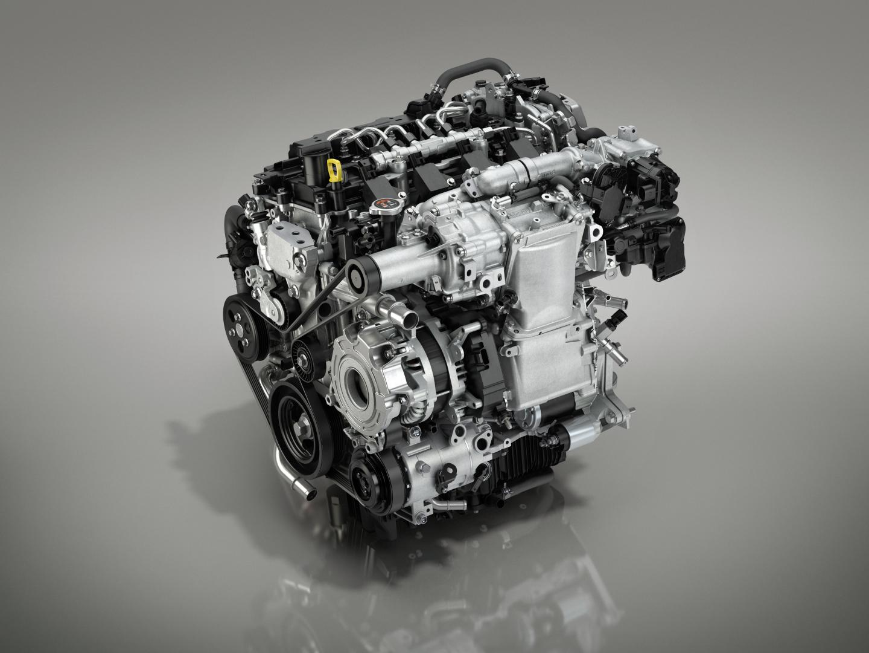 Mazda Skyactiv-x motor