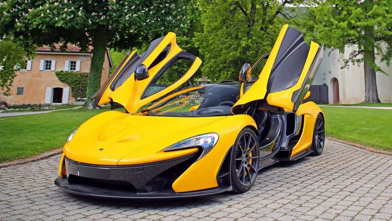 McLaren P1 Geel