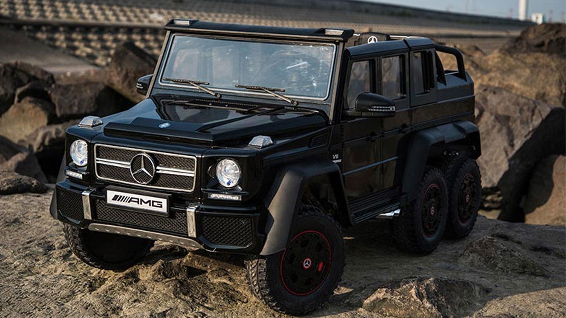 Mercedes G 6x6 voor kinderen haal je op AliExpress