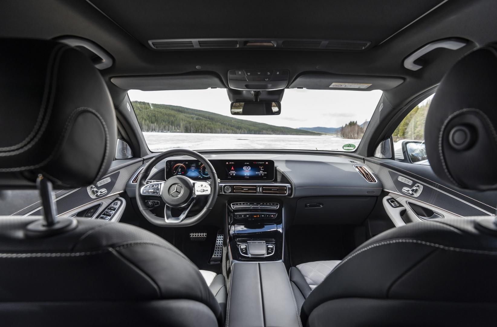 Mercedes-Benz EQC 400 interieur