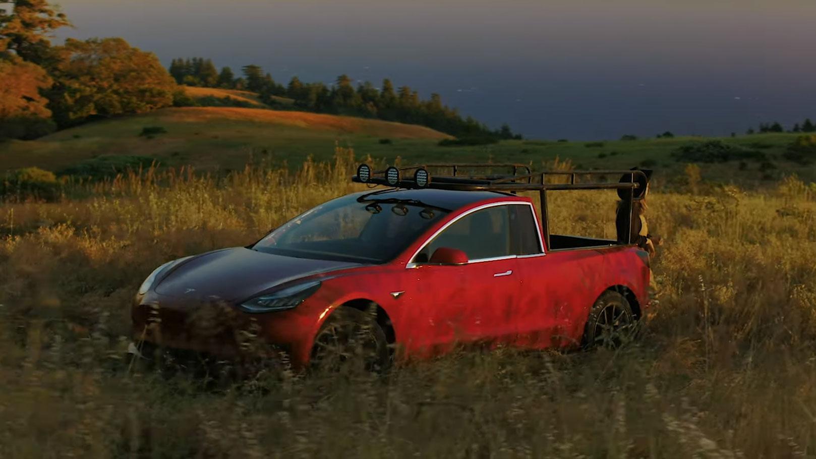 Tesla Model 3 Pick-up
