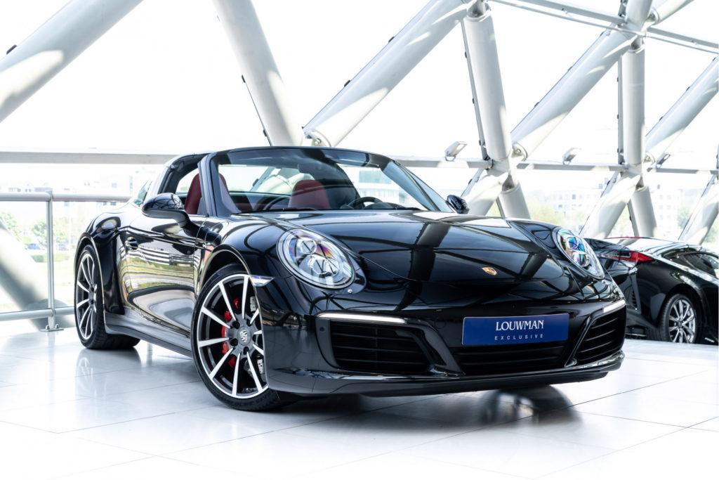 Porsche 911 Targa 4S bij Louwman Exclusive Advertorial