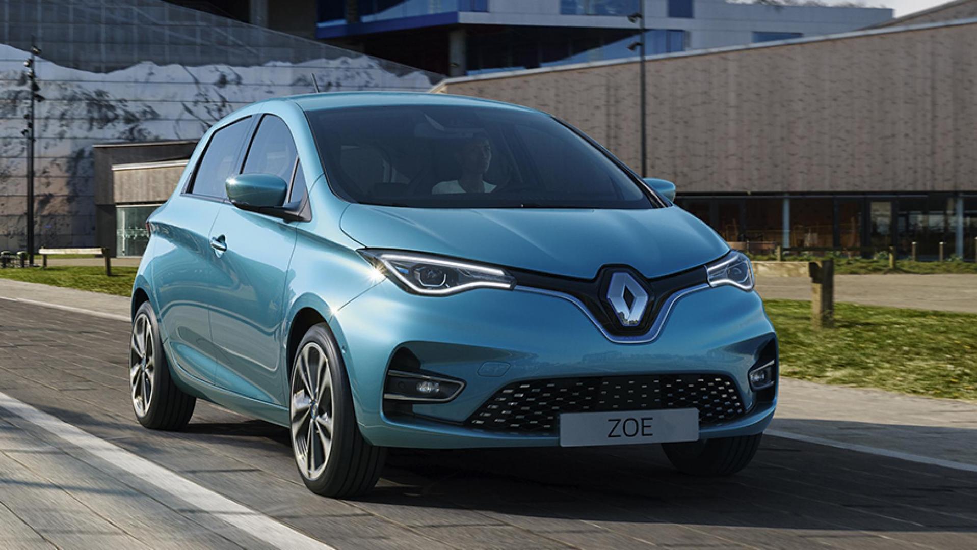 Renault Zoe-facelift