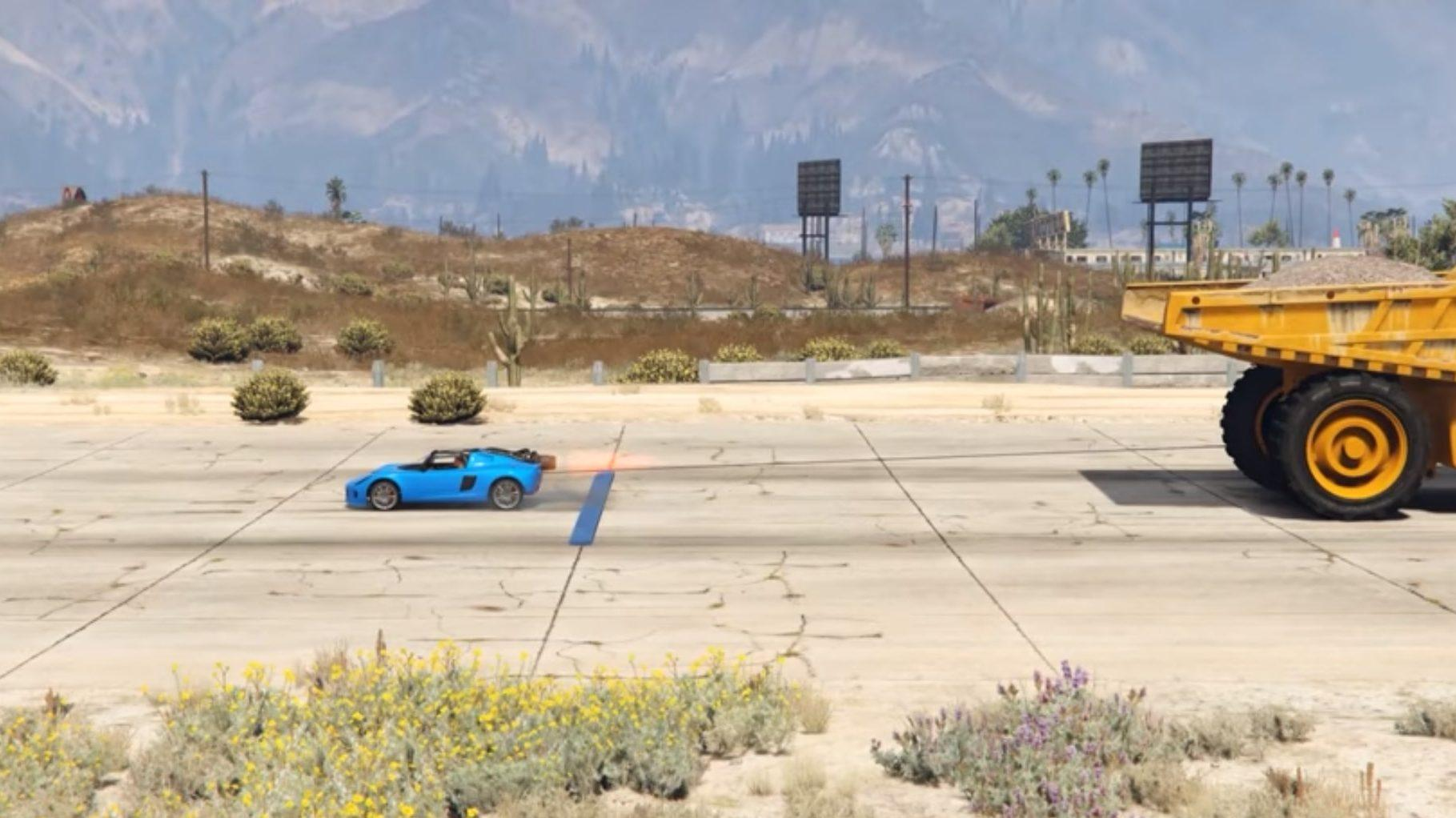 Touwtrekken in GTA 5