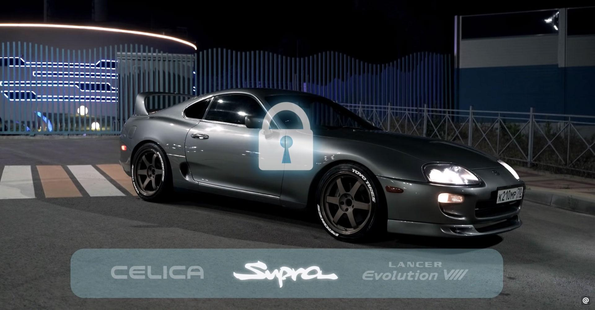 Toyota Supra Need for speed in het echt
