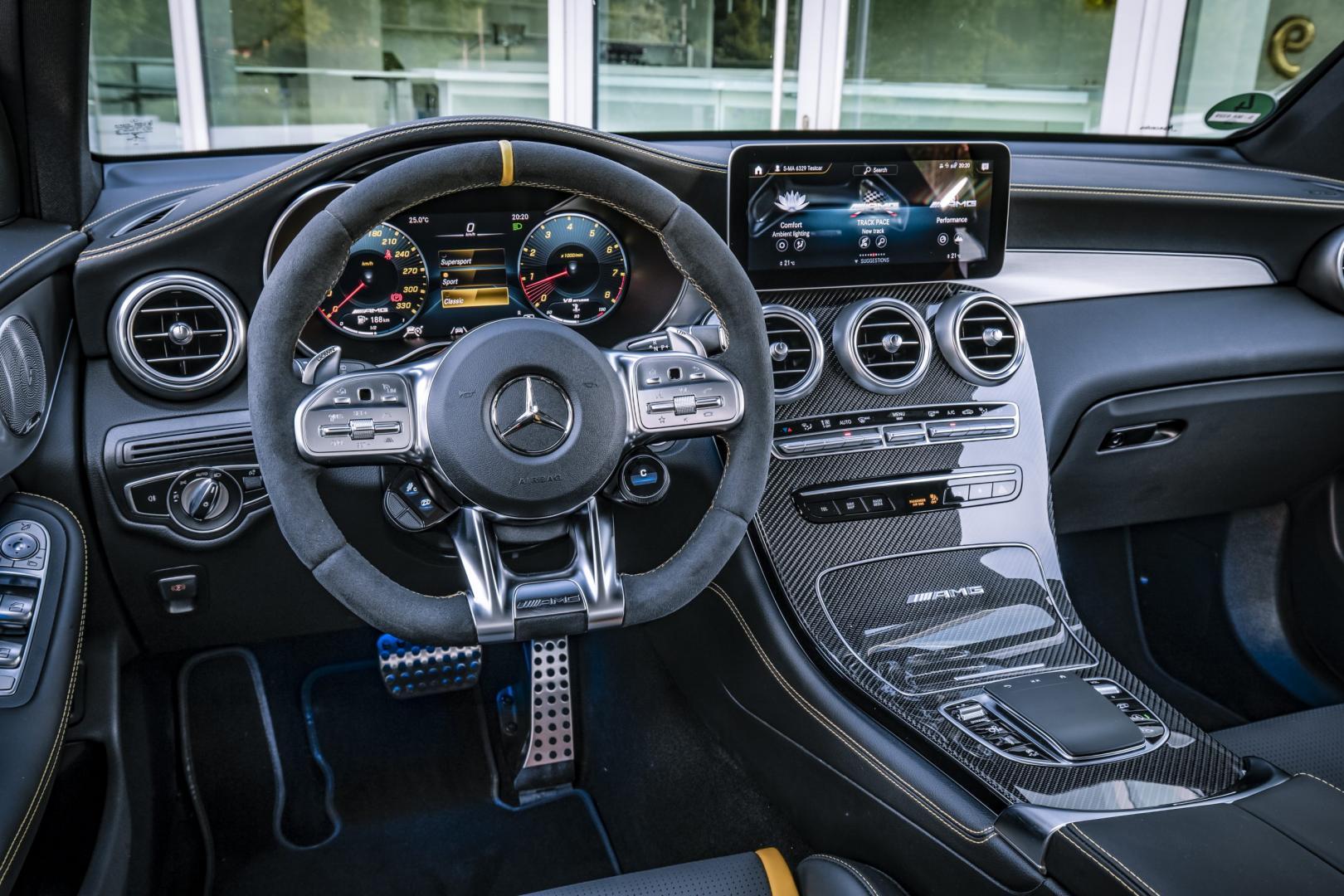 Mercedes-AMG GLC 63 S interieur