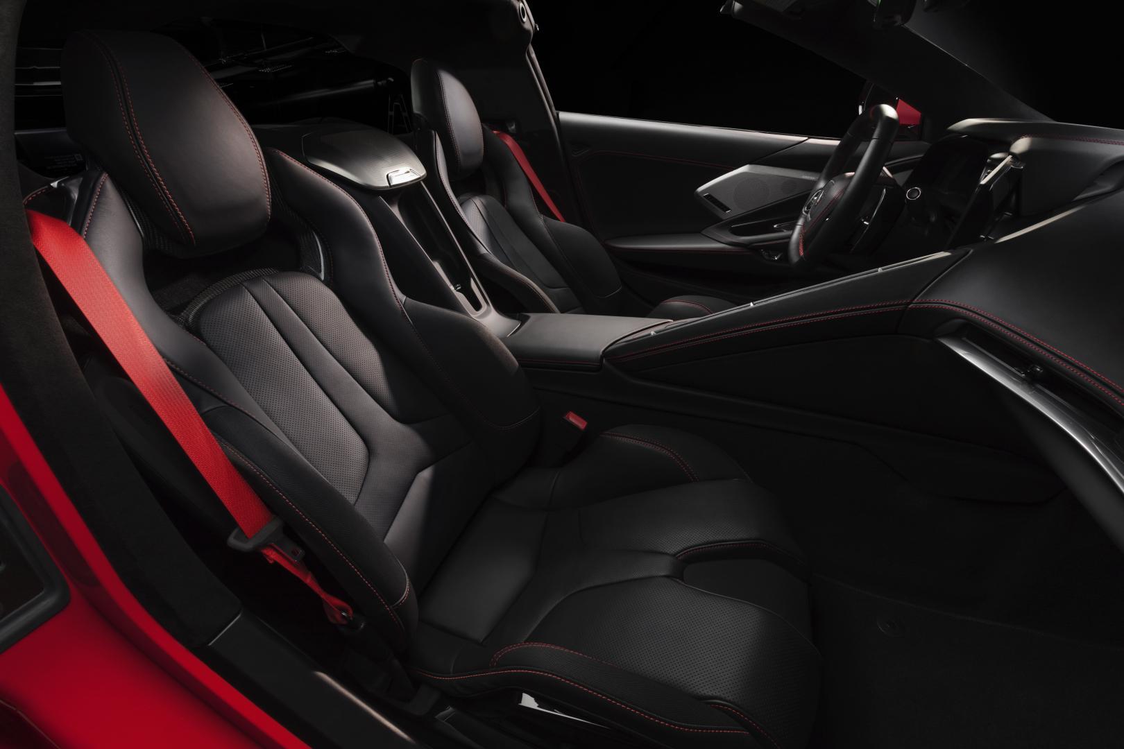 2020 Chevrolet Corvette C8 Stingray interieur stoelen