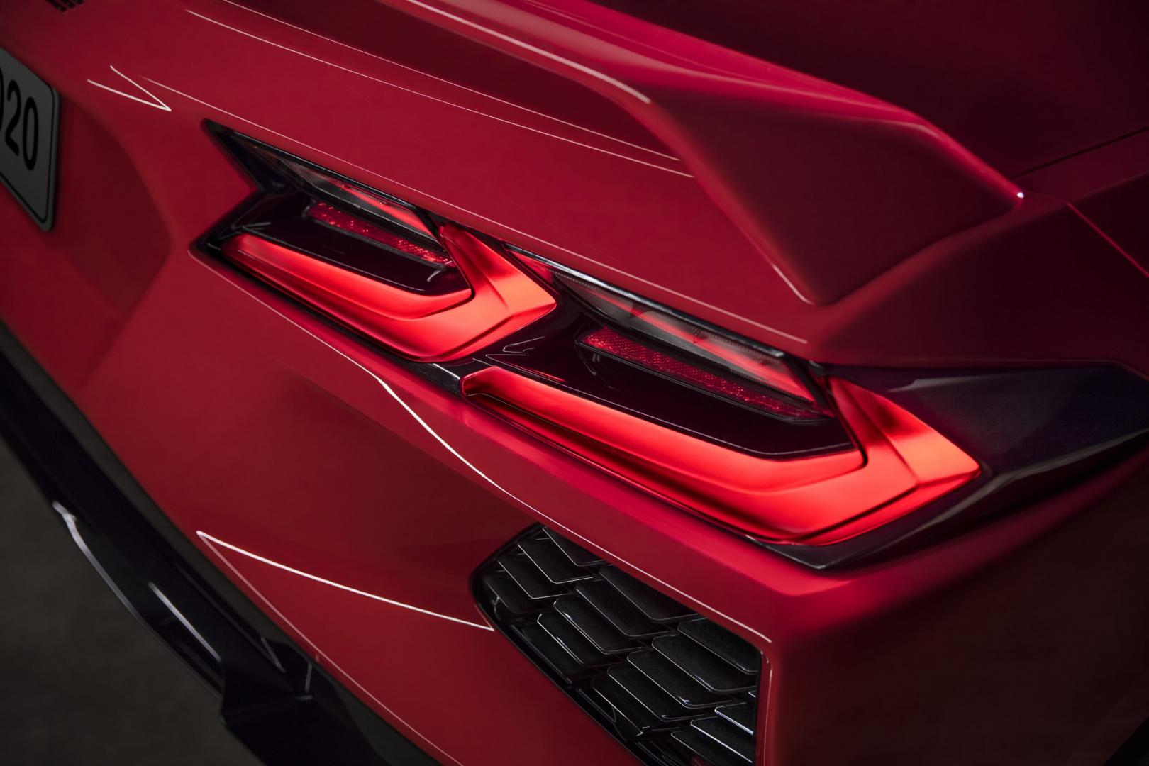 2020 Chevrolet Corvette C8 Stingray achterlicht