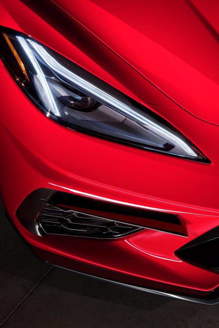 2020 Chevrolet Corvette C8 Stingray koplamp