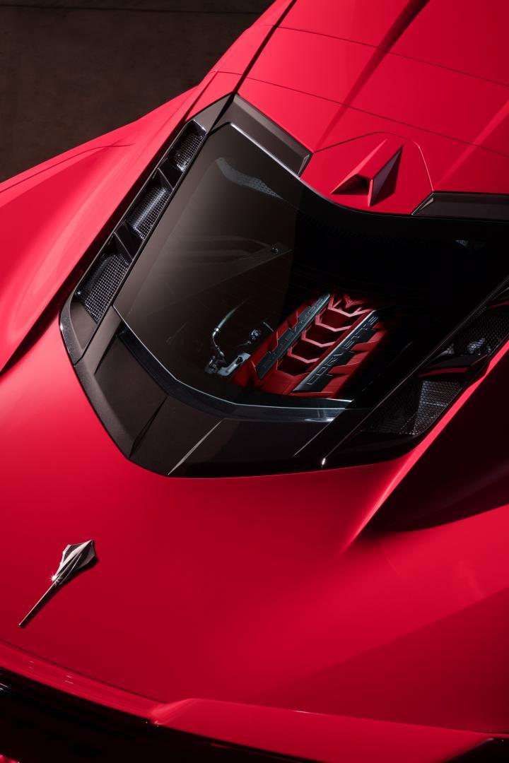 2020 Chevrolet Corvette C8 Stingray motor middenmotor