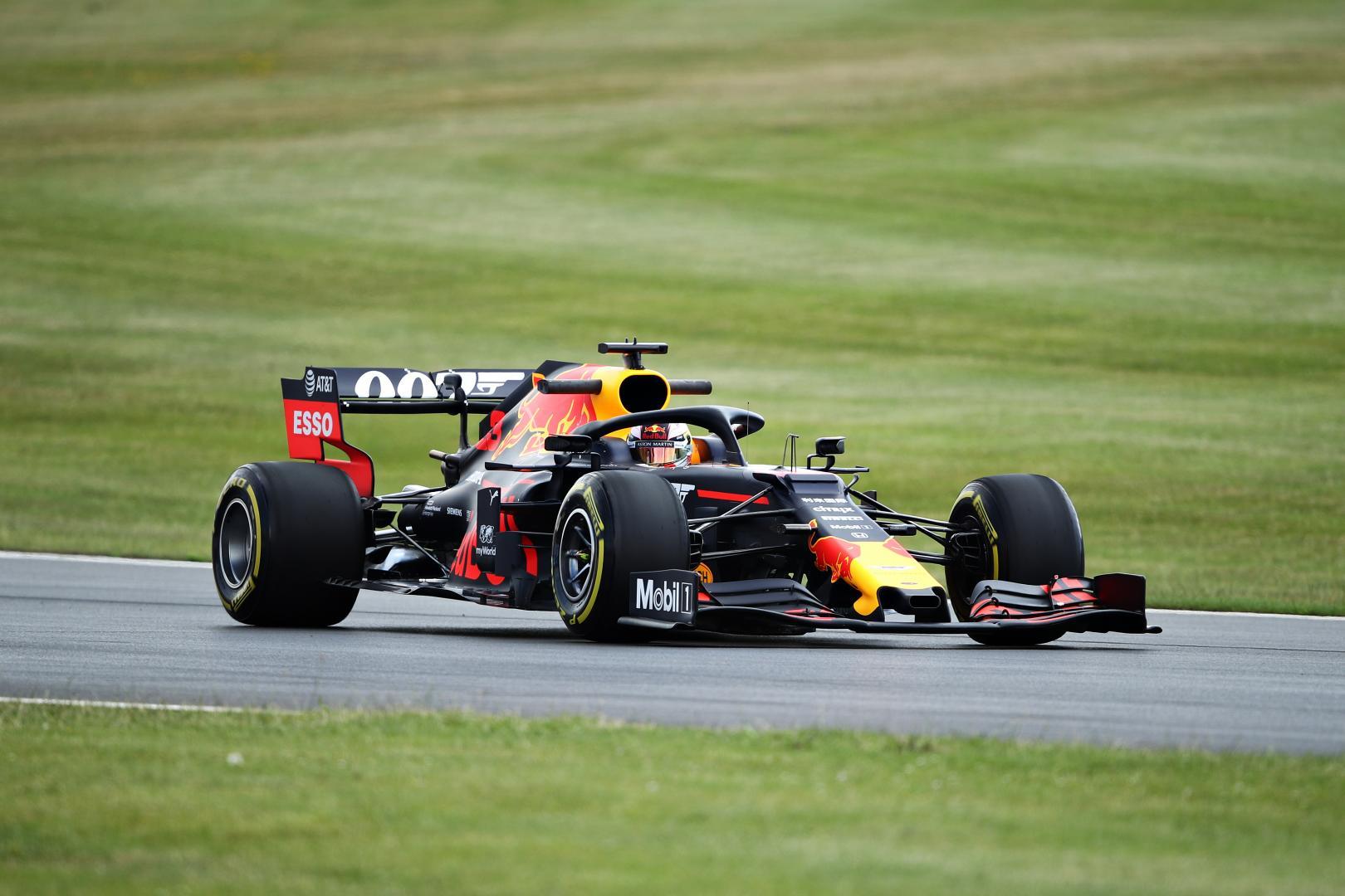 2e vrije training van de GP van Groot-Brittannië 2019