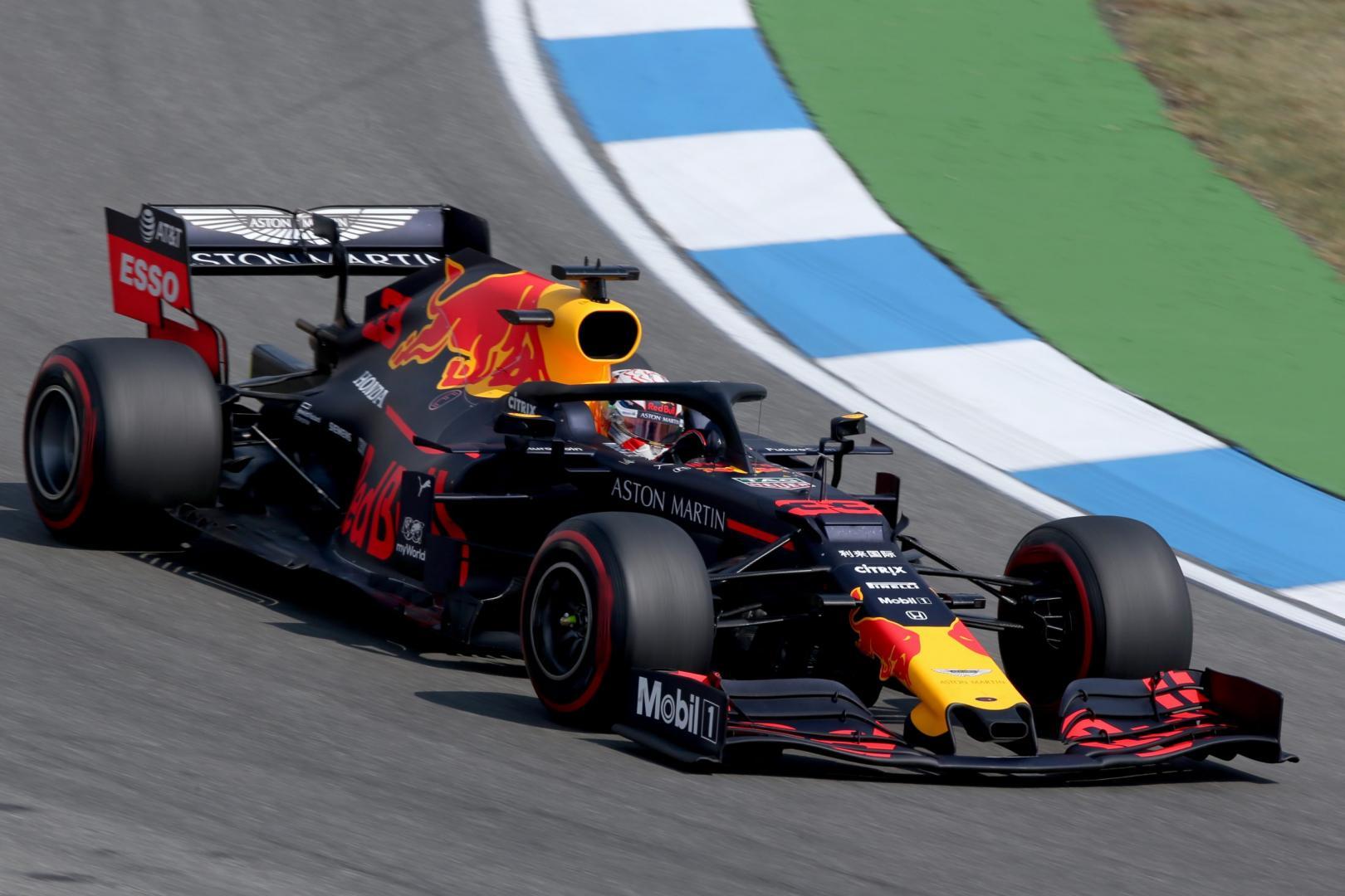3e vrije training van de GP van Duitsland 2019