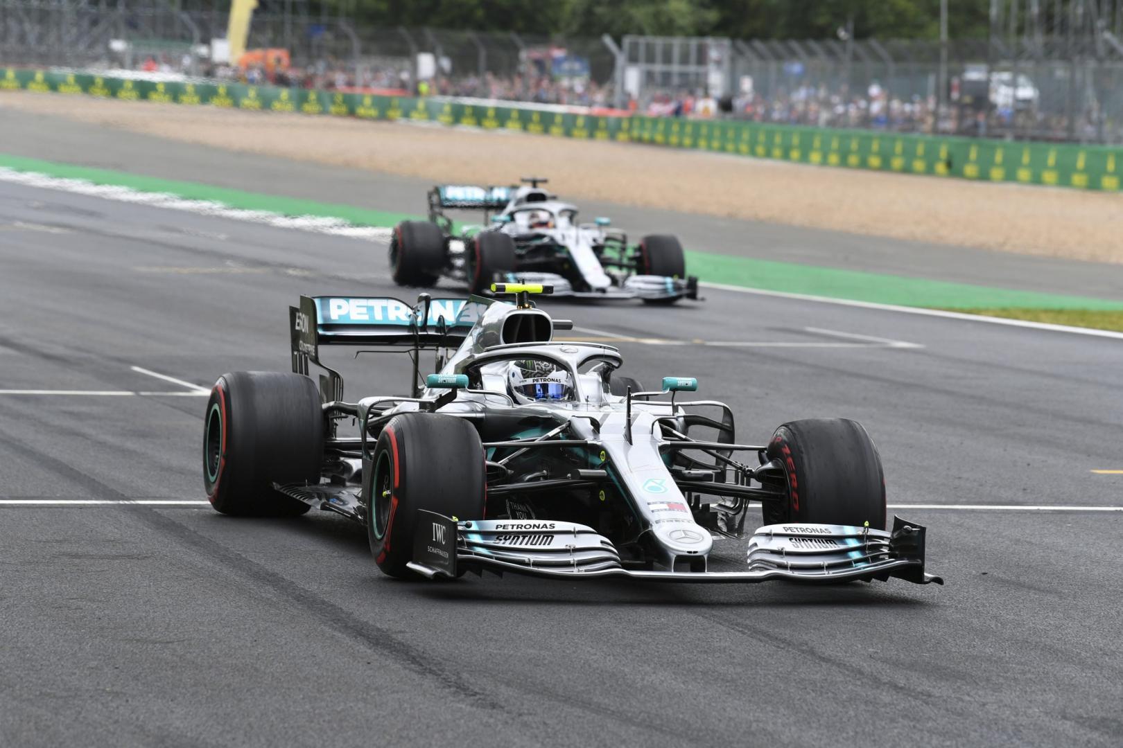 3e vrije training van de GP van Groot-Brittannië 2019
