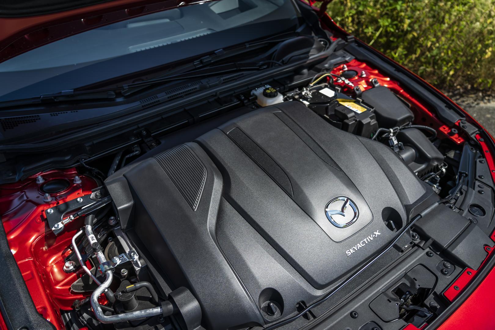 Mazda 3 skyactiv-x motor