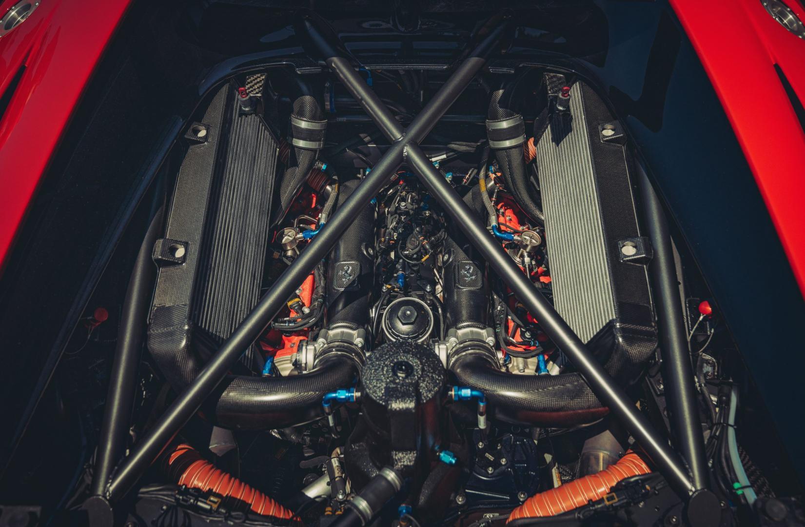 Ferrari P80/C motor