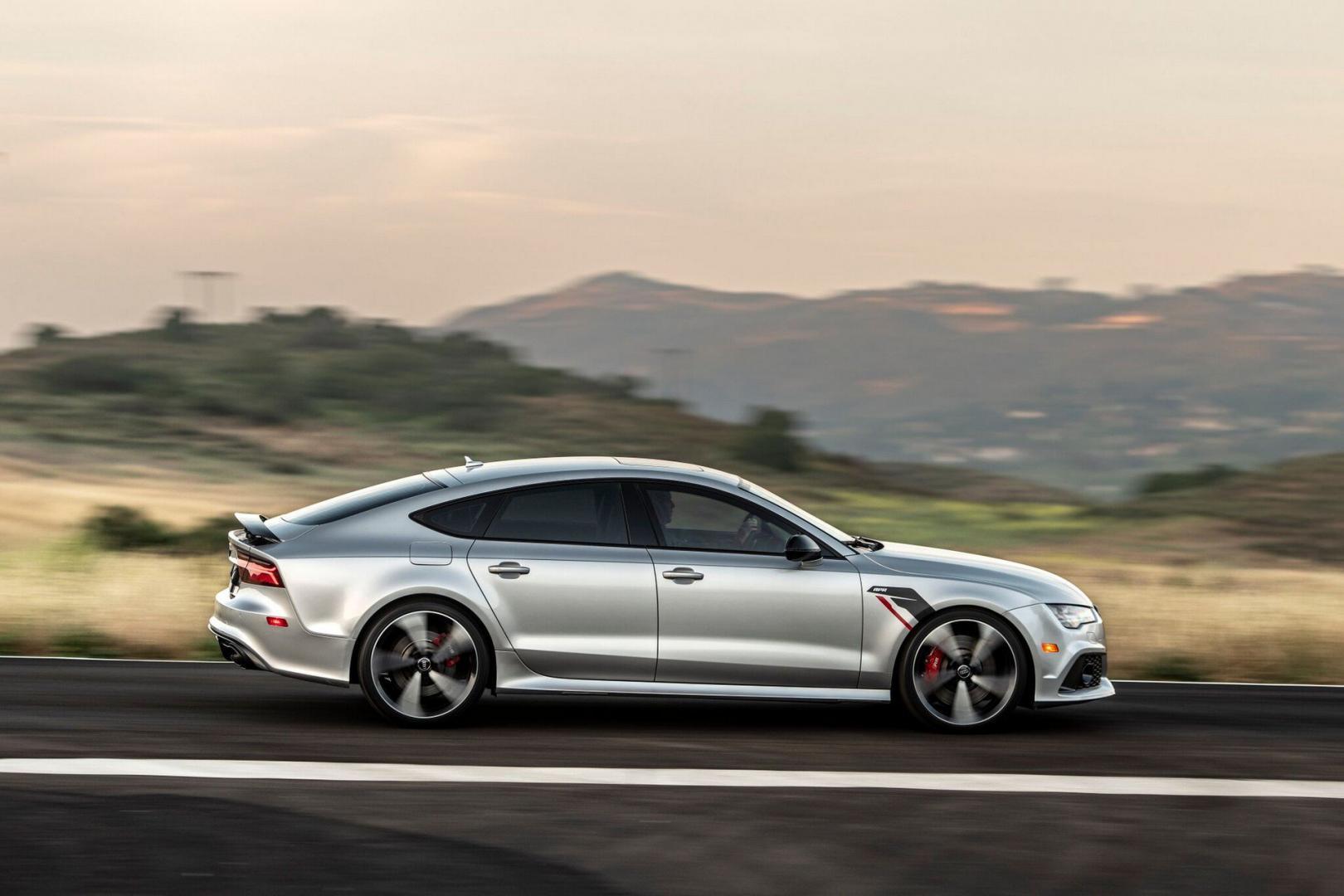 Gepantserde Audi RS 7