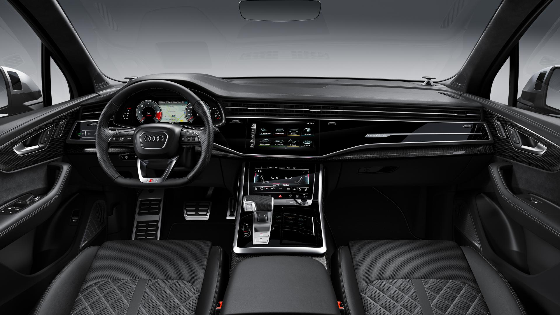 Audi SQ7-facelift 2019 interier