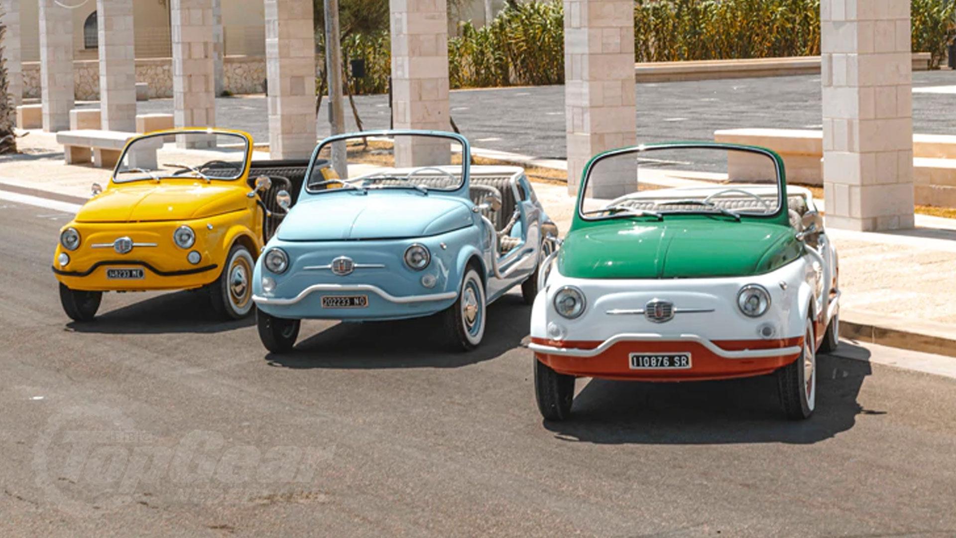 Fiat 500 Jolly's huren bij Hertz