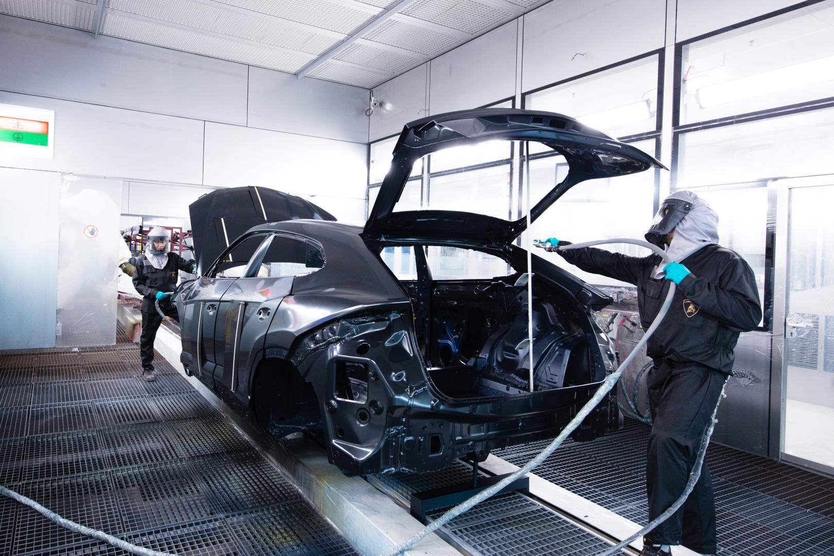 Lamborghini Urus verf