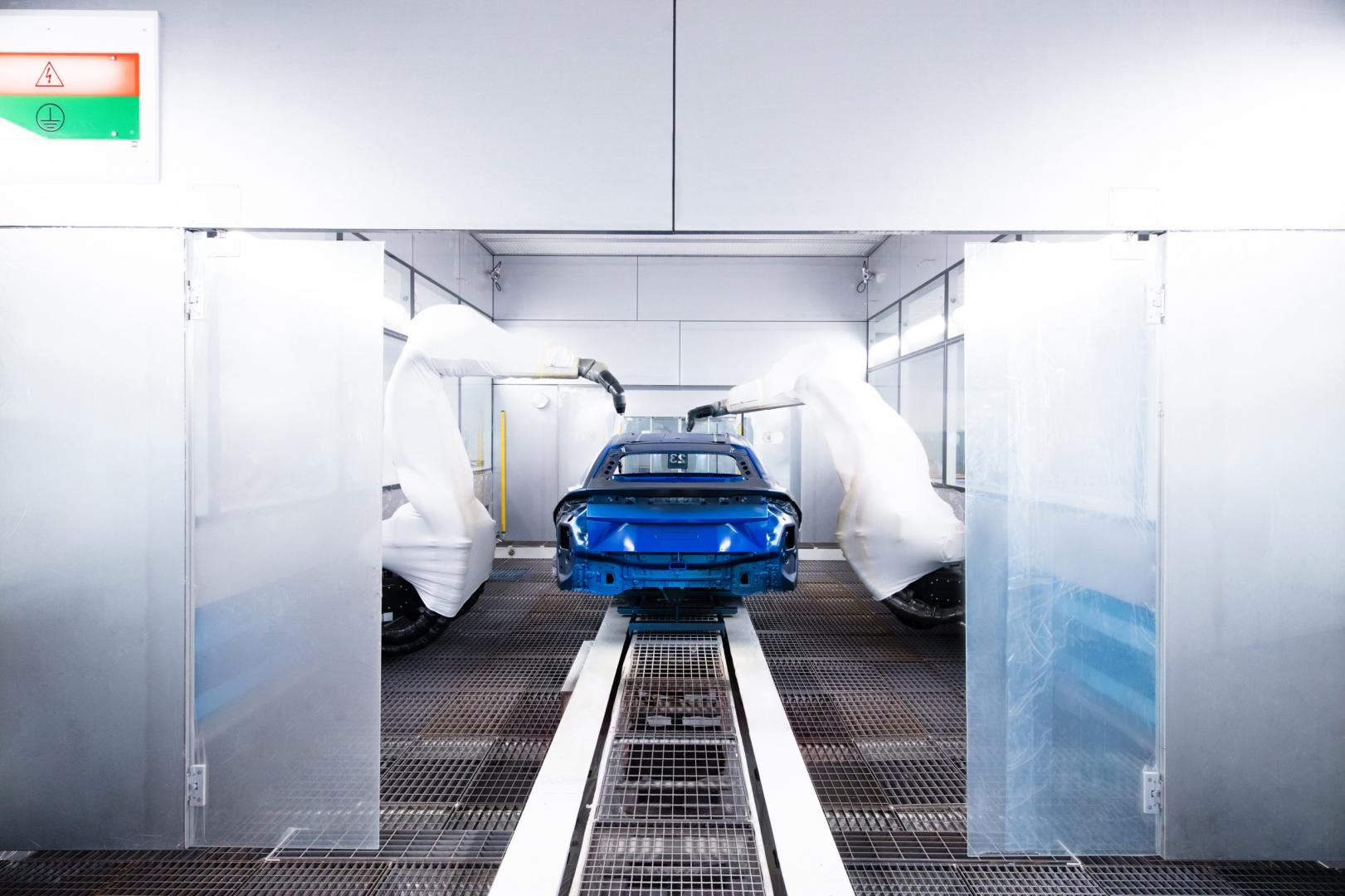 Lamborghini Urus verf fabriek