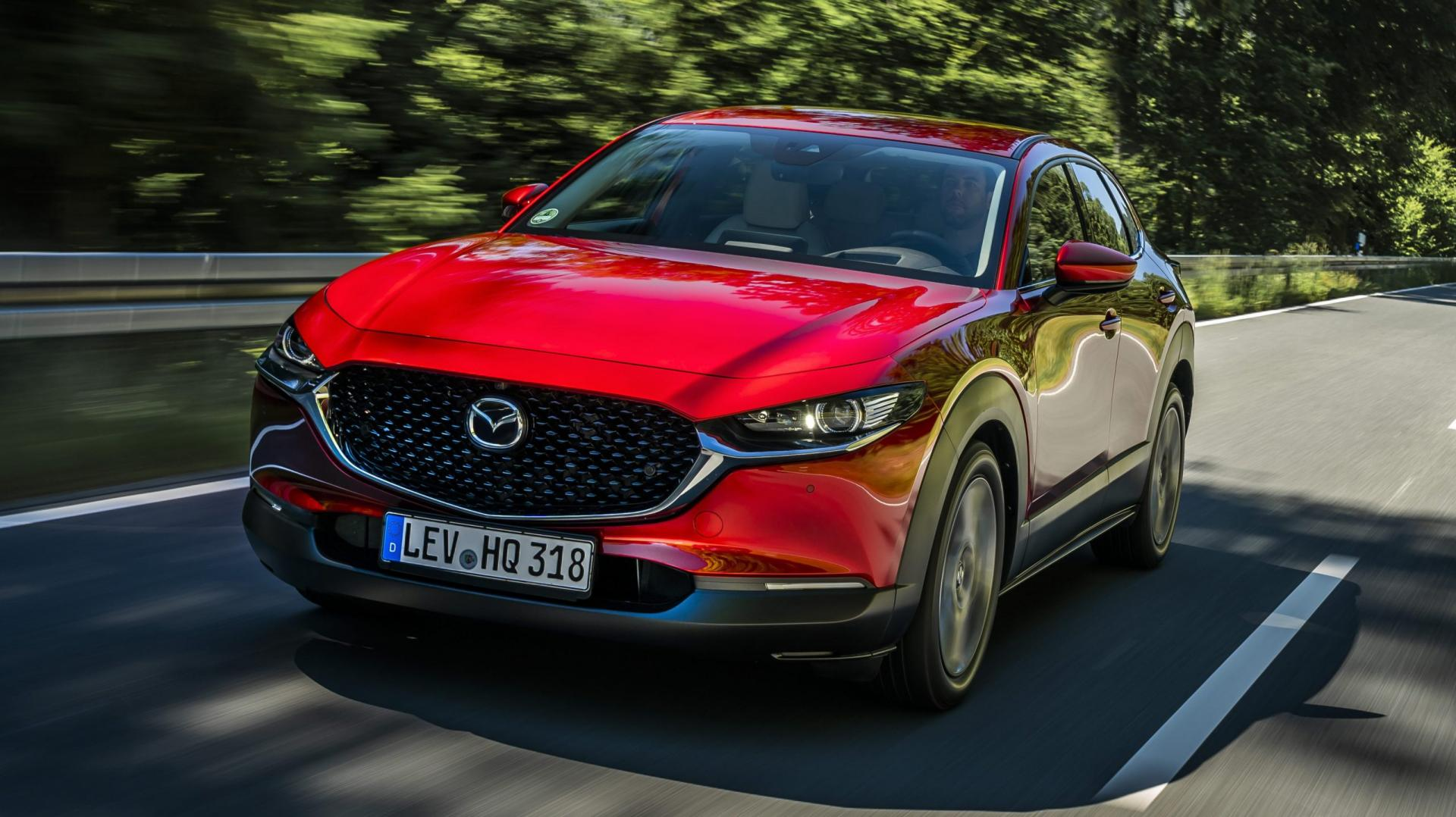 Mazda CX-30 soul red 2019