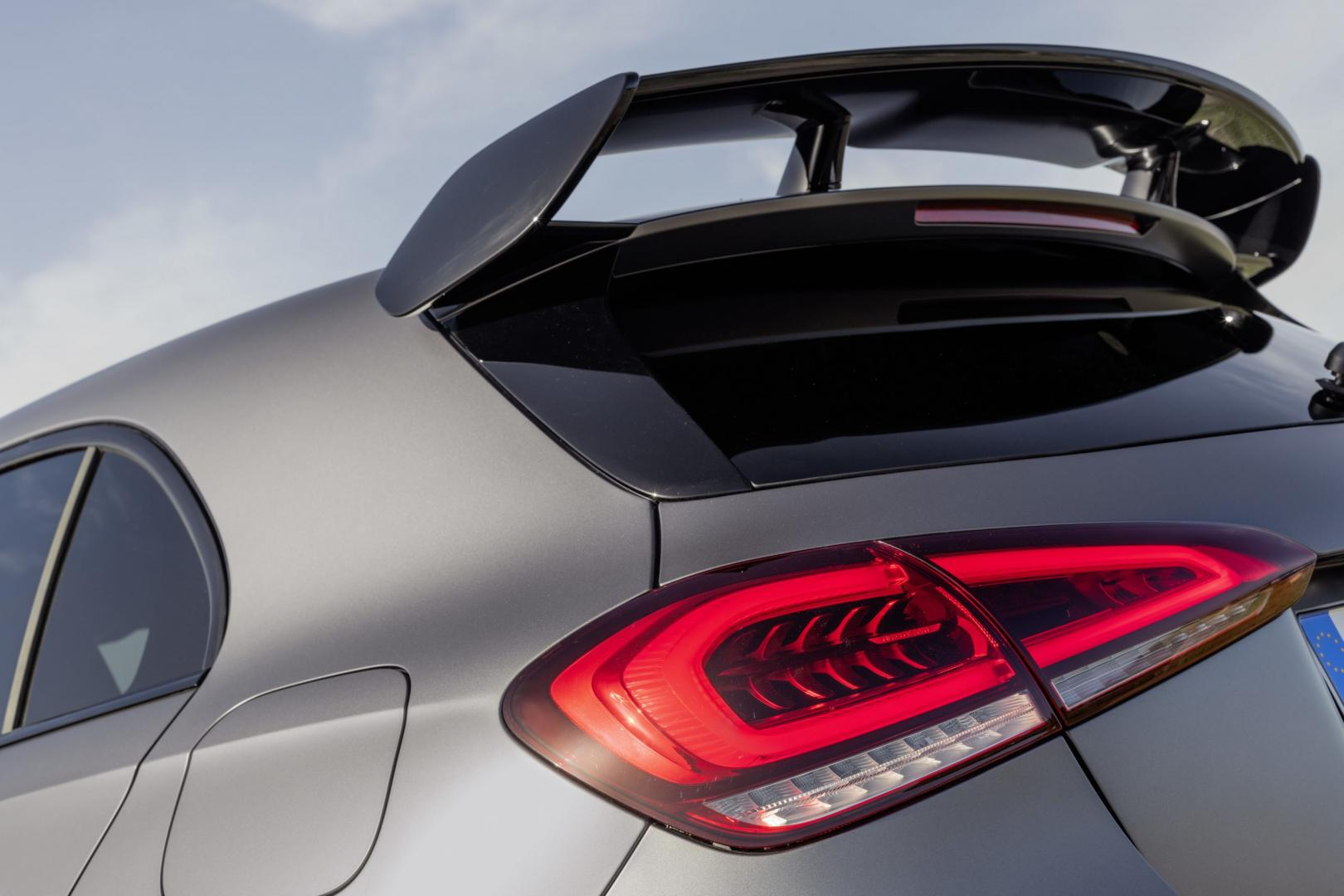 Mercedes-AMG A 45 S achterspoiler