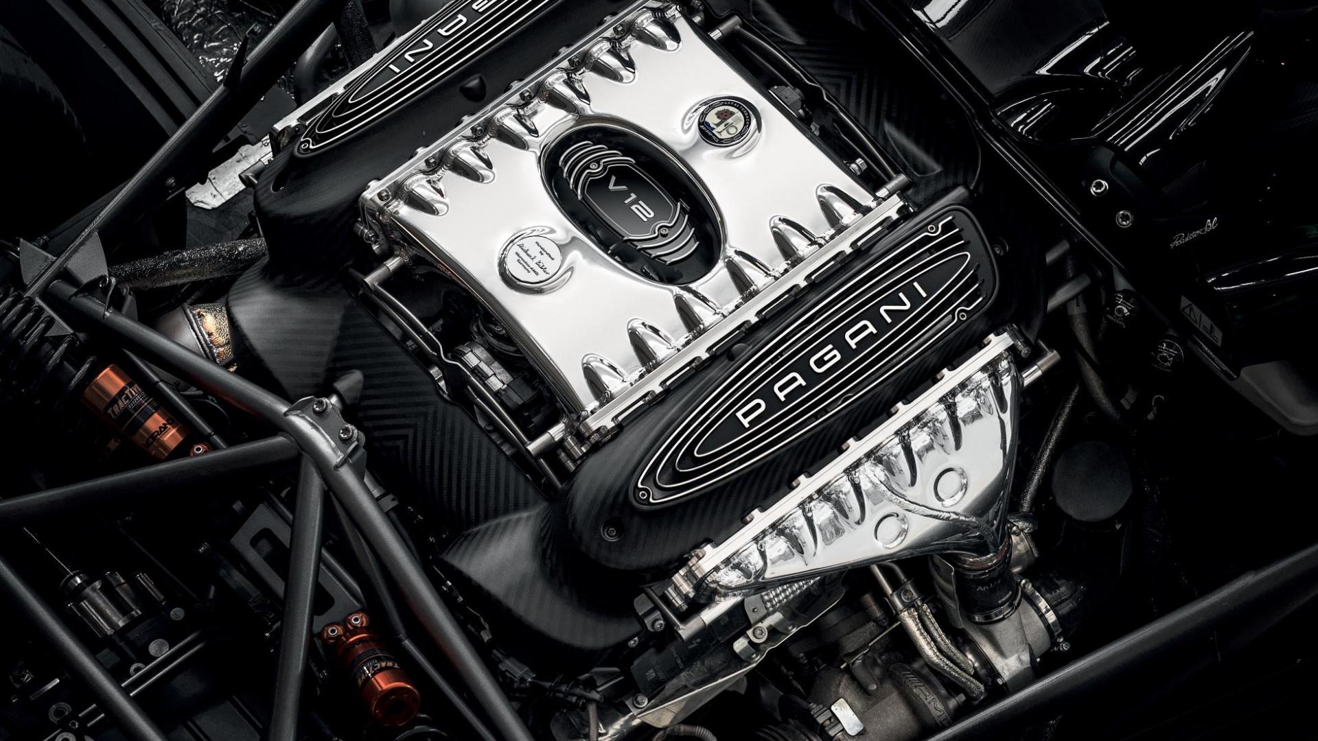 Pagani Huayra Roadster BC V12 mercedes amg