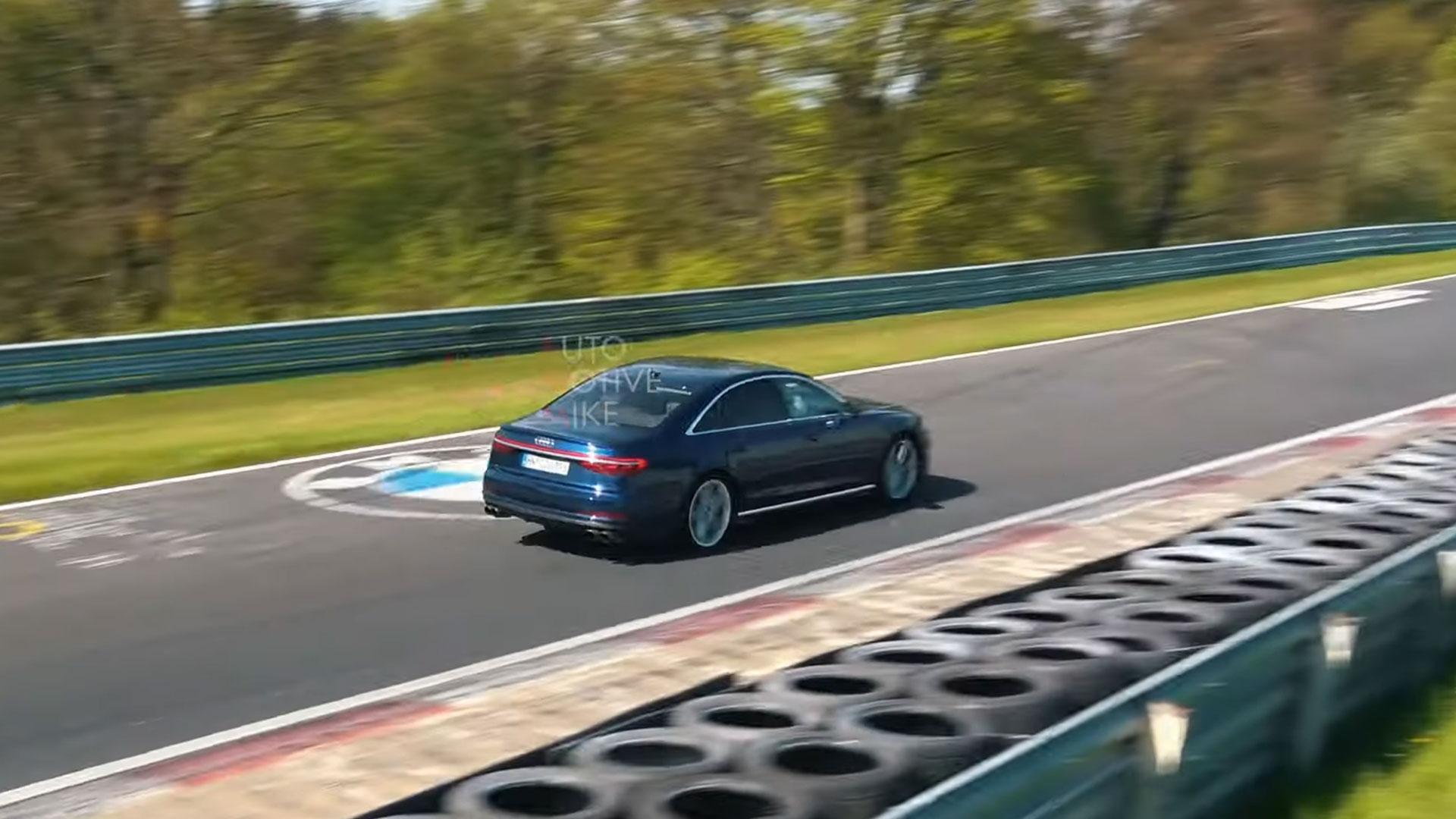 Audi S8 Nurburgring