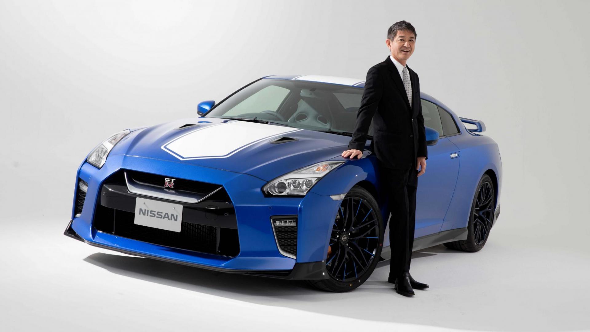 Nissan GT-R nog niet met pensioen - Hiroshi Tamura