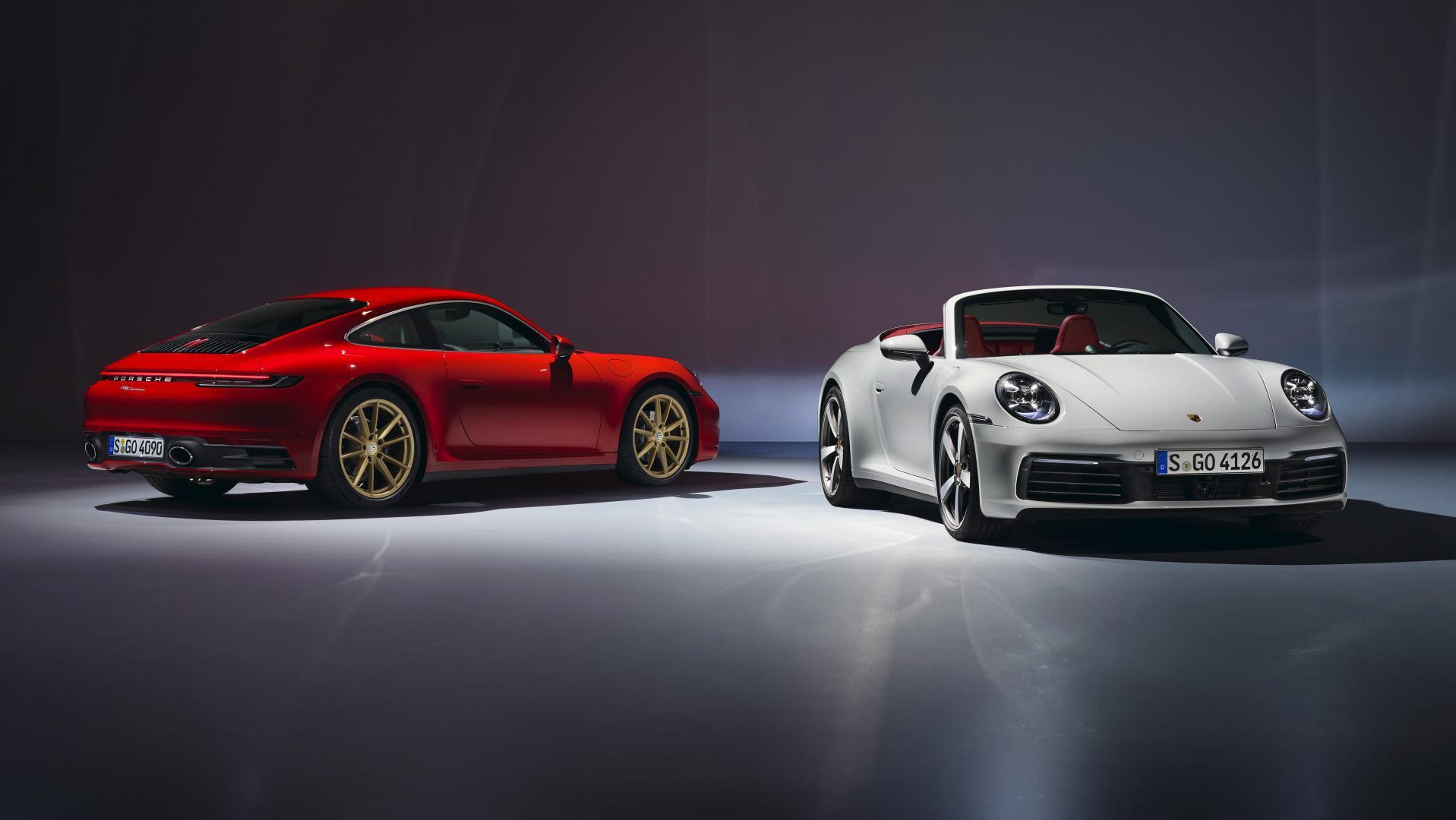 Porsche 911 Carrera en Cabriolet 2019