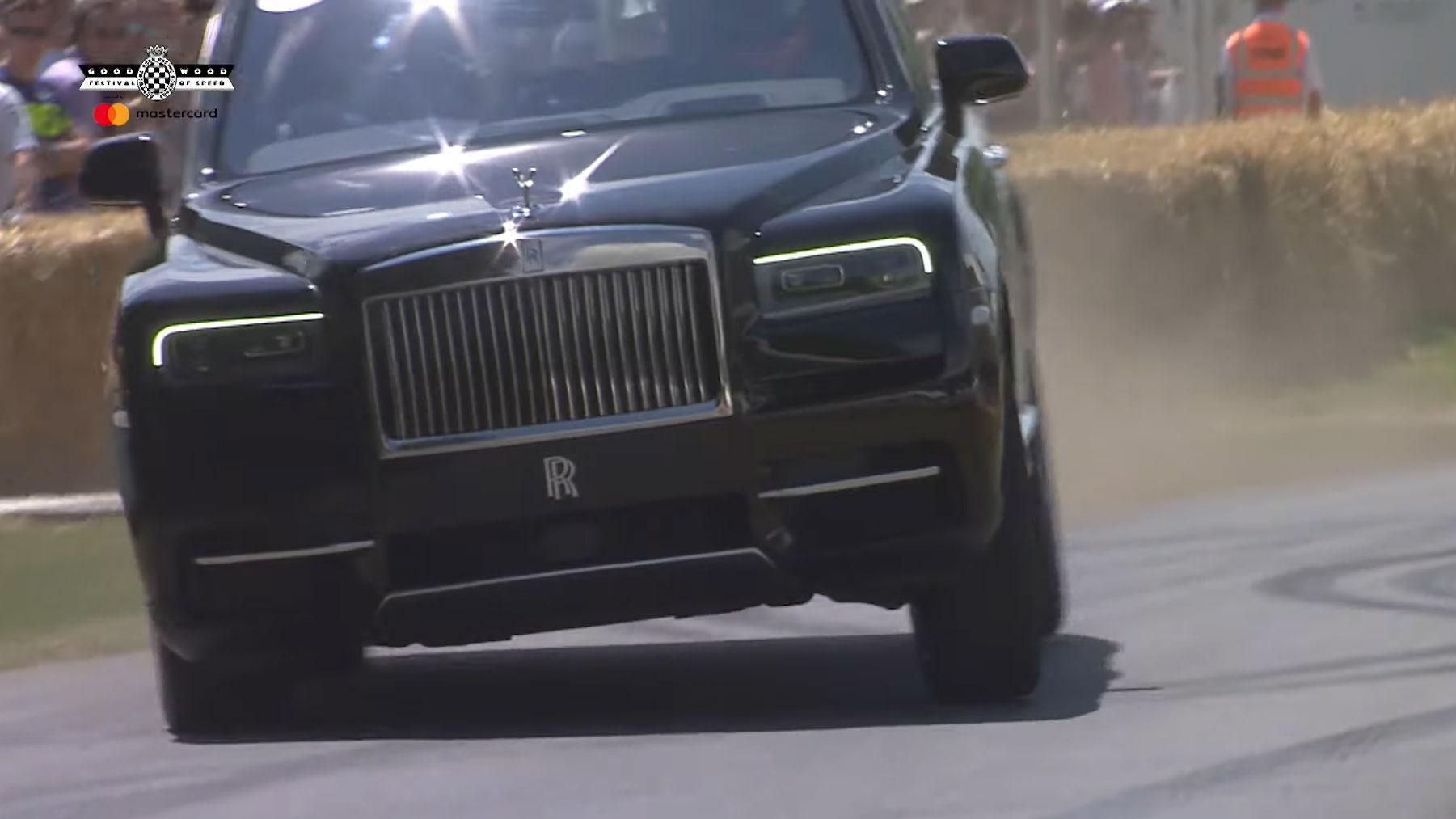 Rolls-Royce Cullinan op Goodwood