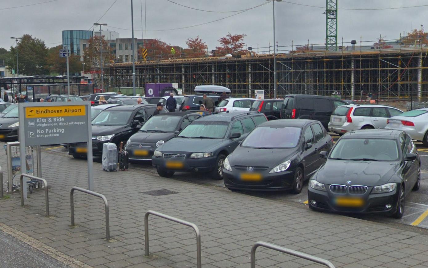 Verlaten Opel Corsa