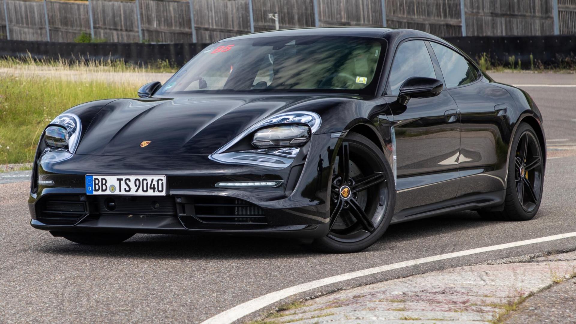 Porsche Taycan 2019 pre-productie 1e rij-indruk