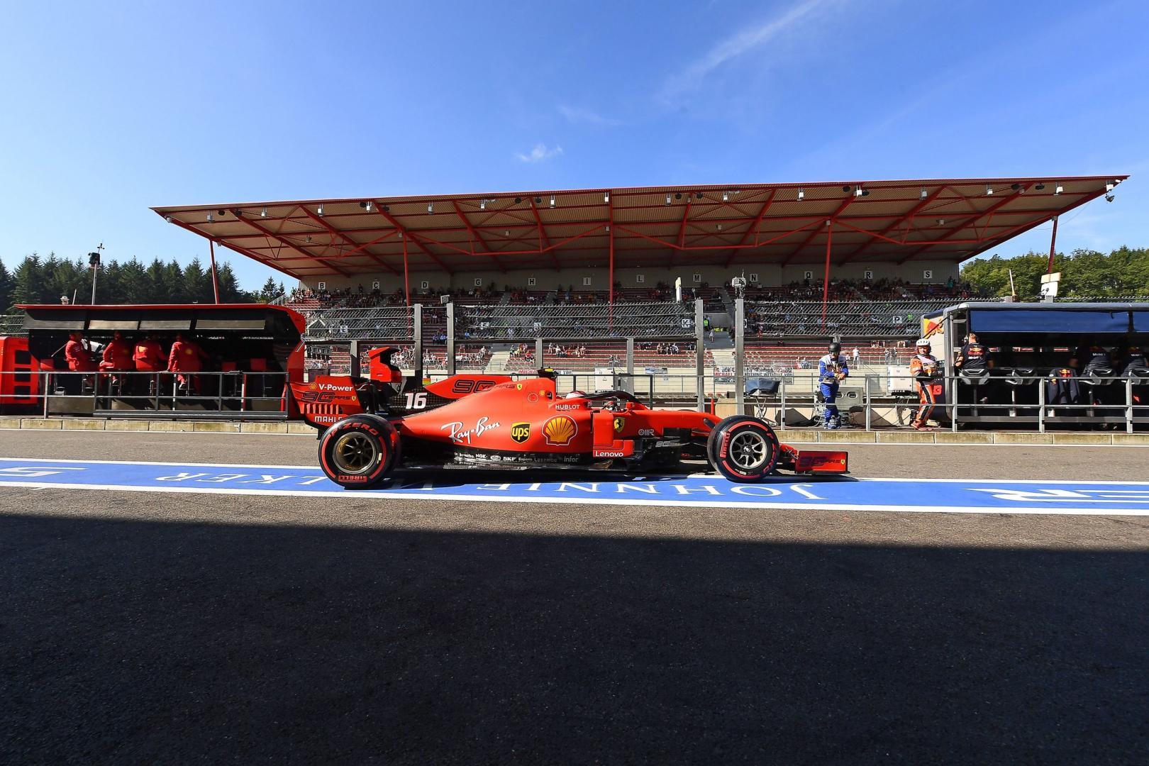 3e vrije training van de GP van België 2019