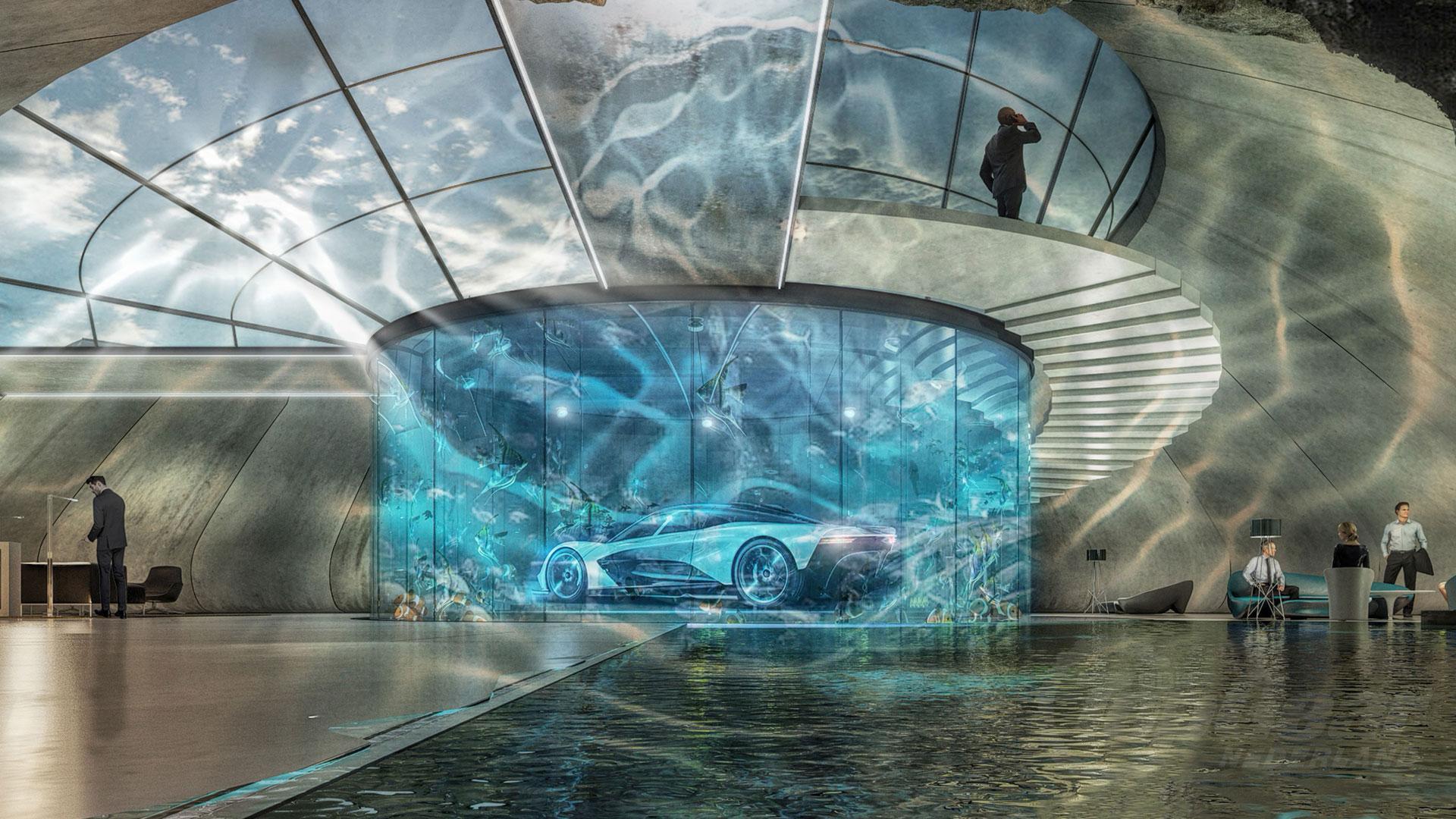 Aston Martin Mancave met Valhalla