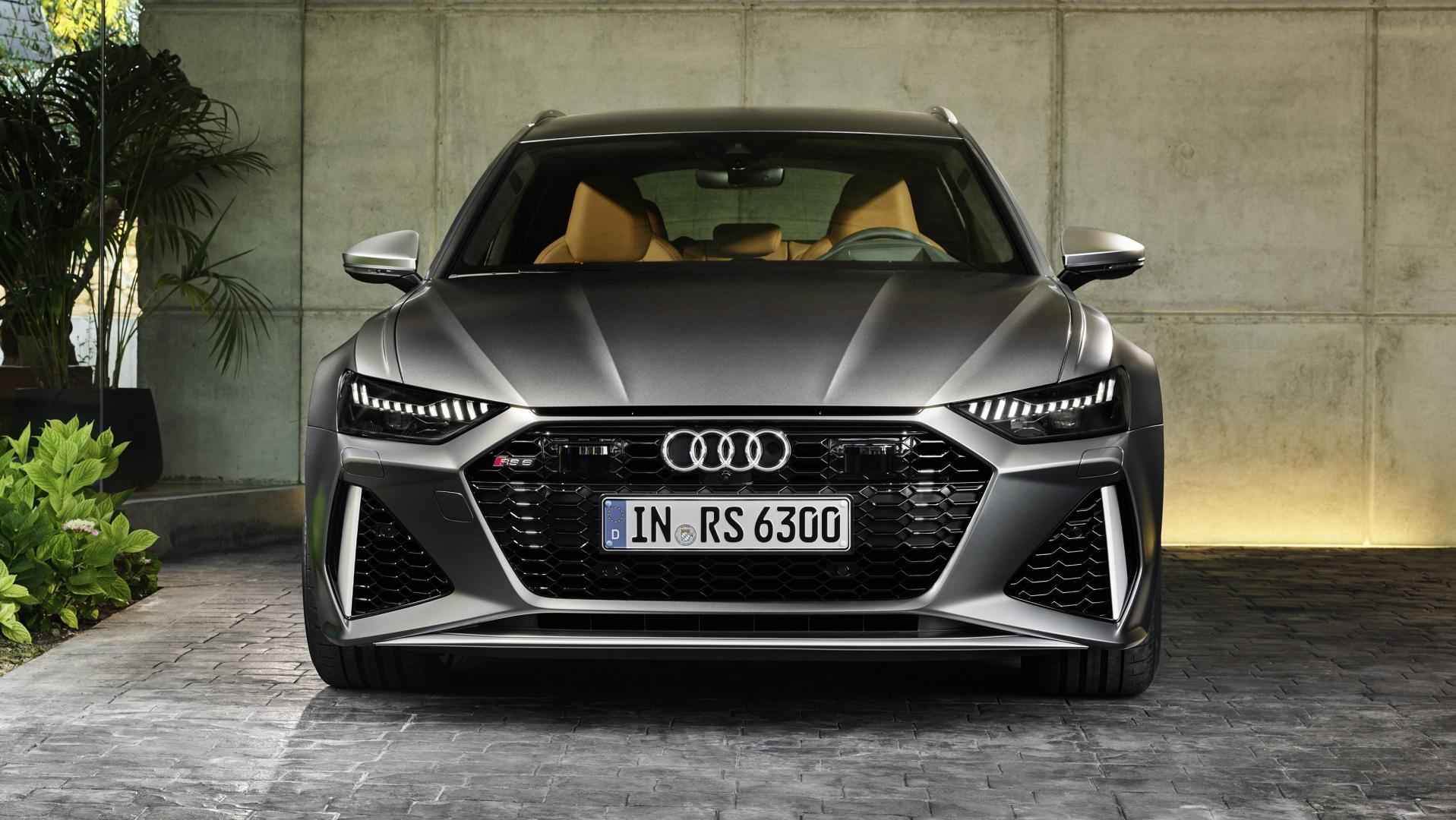 Audi RS 6 2019 oprit carport